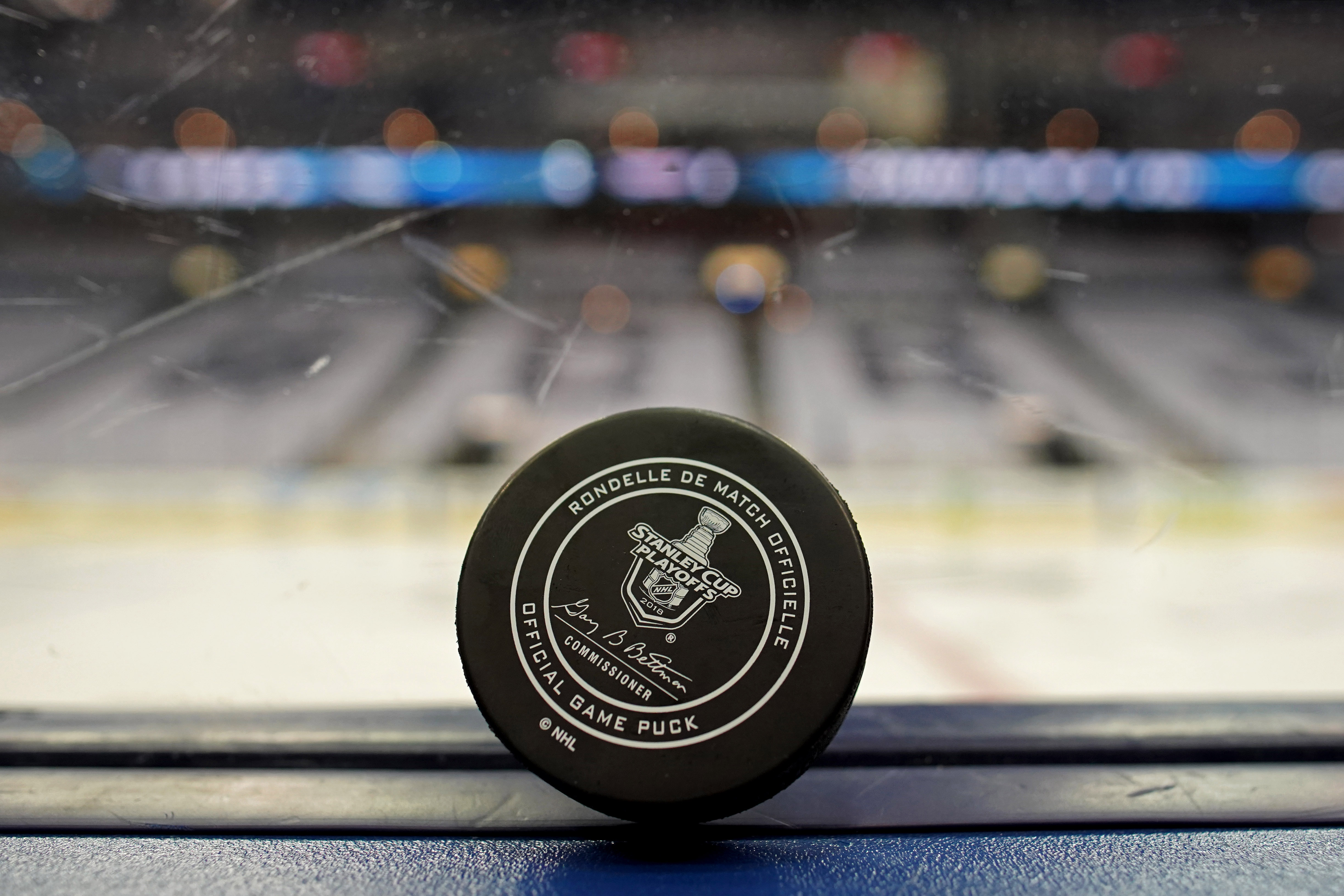 NHL: Stanley Cup Playoffs-Washington Capitals at Columbus Blue Jackets