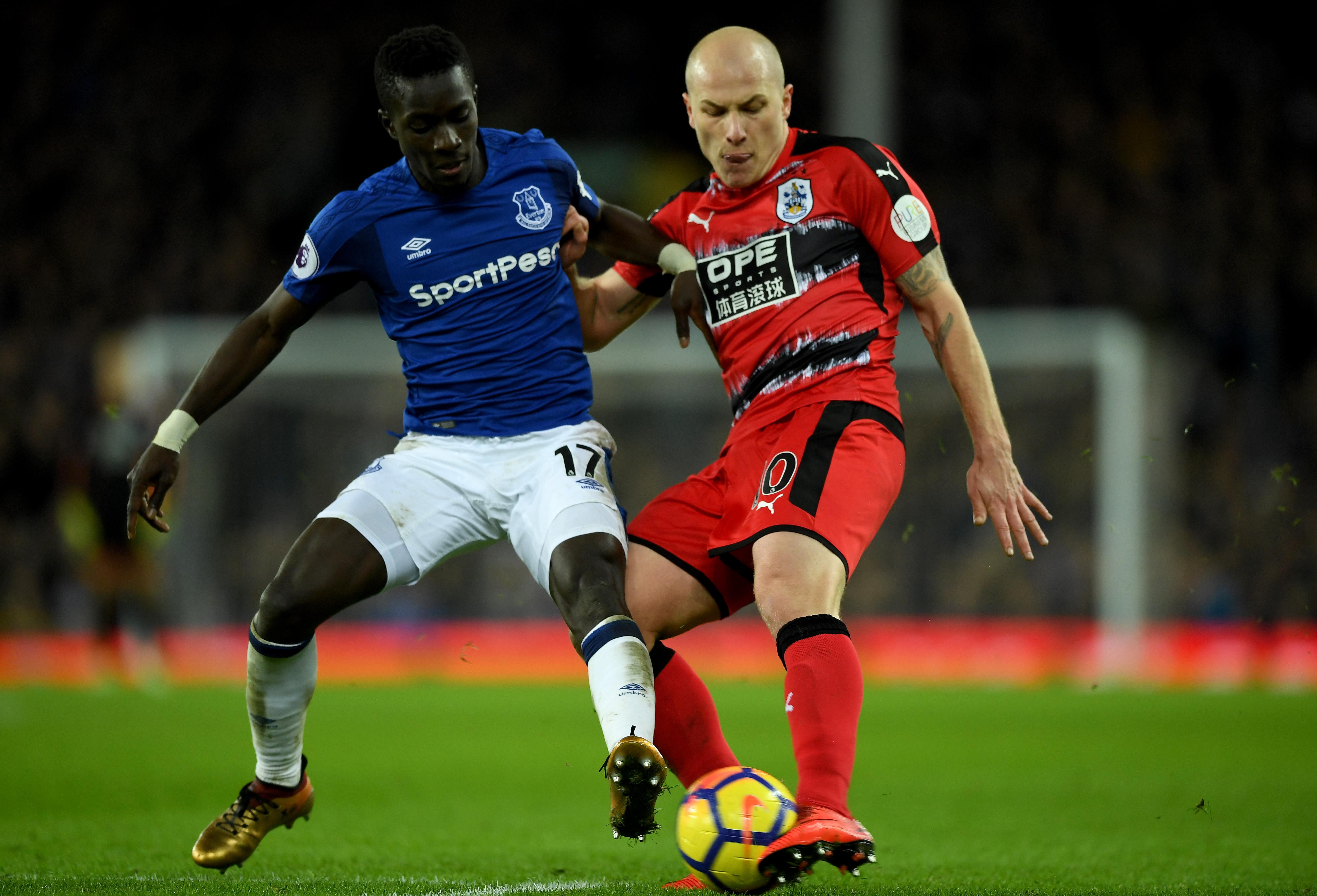 Everton v Huddersfield Town - Premier League
