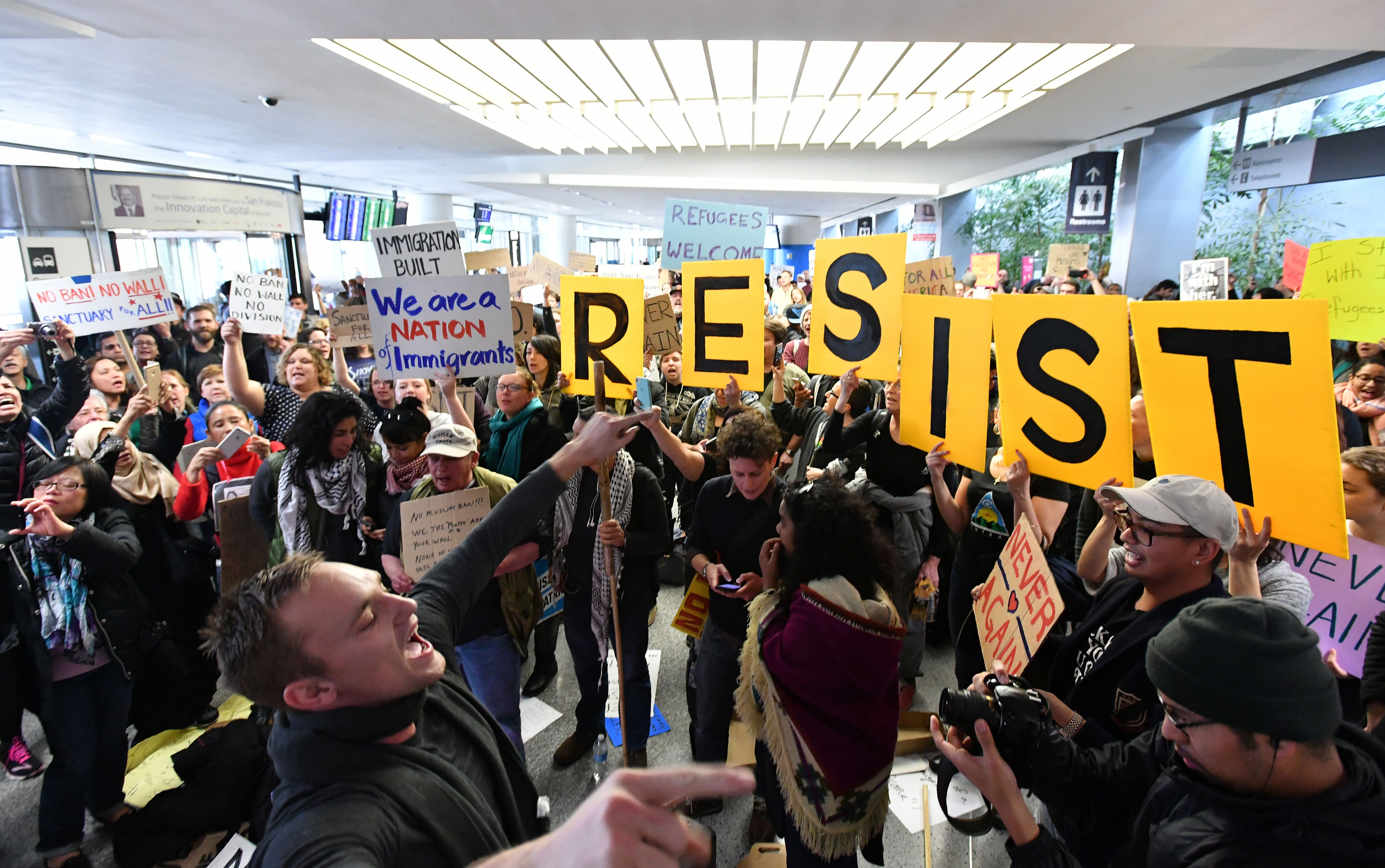 How Trump's travel ban became normal