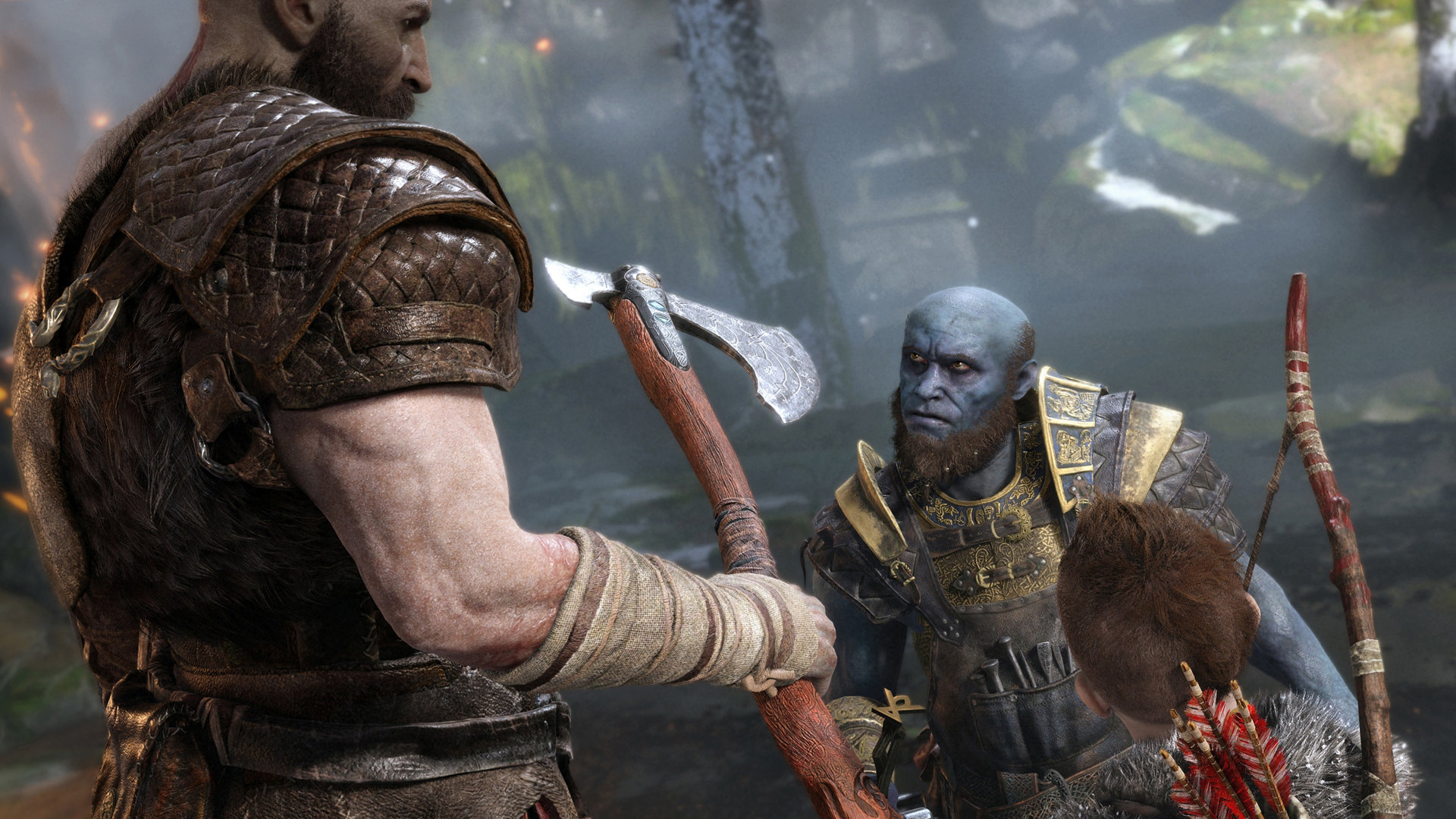 God of War's cloth map hides an elaborate puzzle