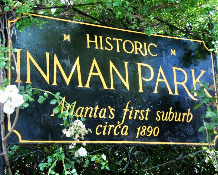Inman Park was founded in 1890 as Atlanta's first suburb