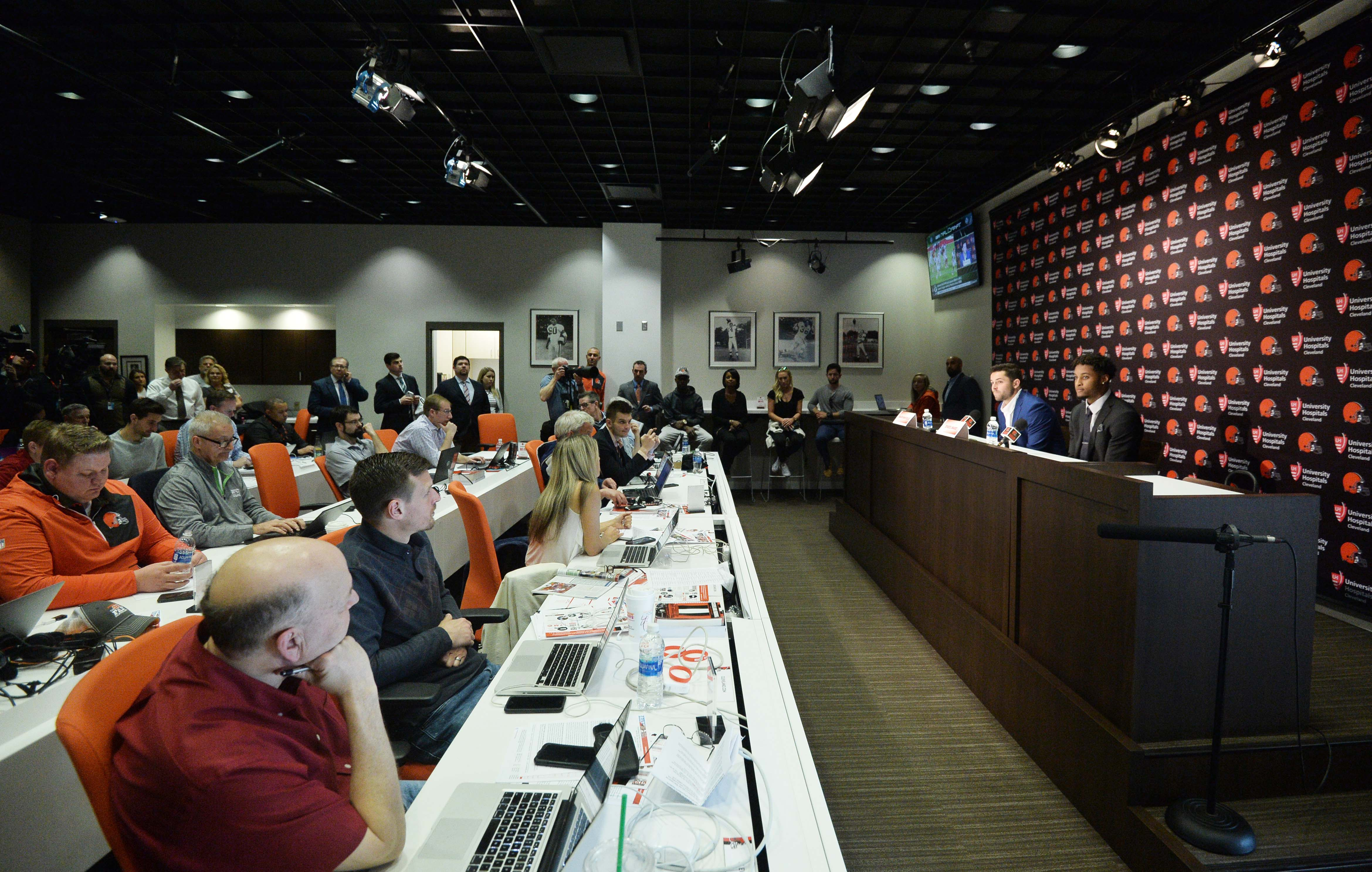 NFL: Cleveland Browns-Press Conference
