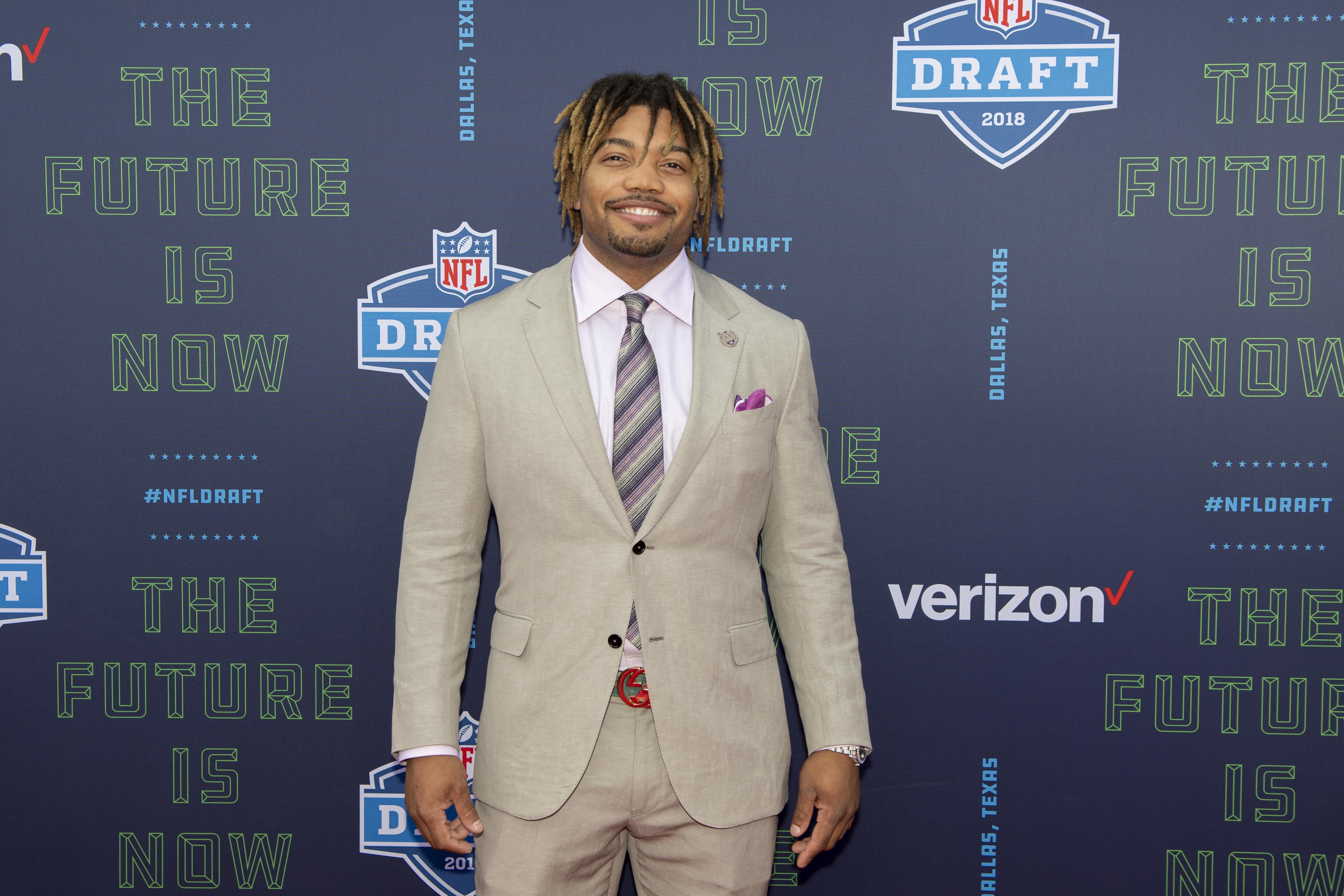 NFL: NFL Draft-Red Carpet Arrivals