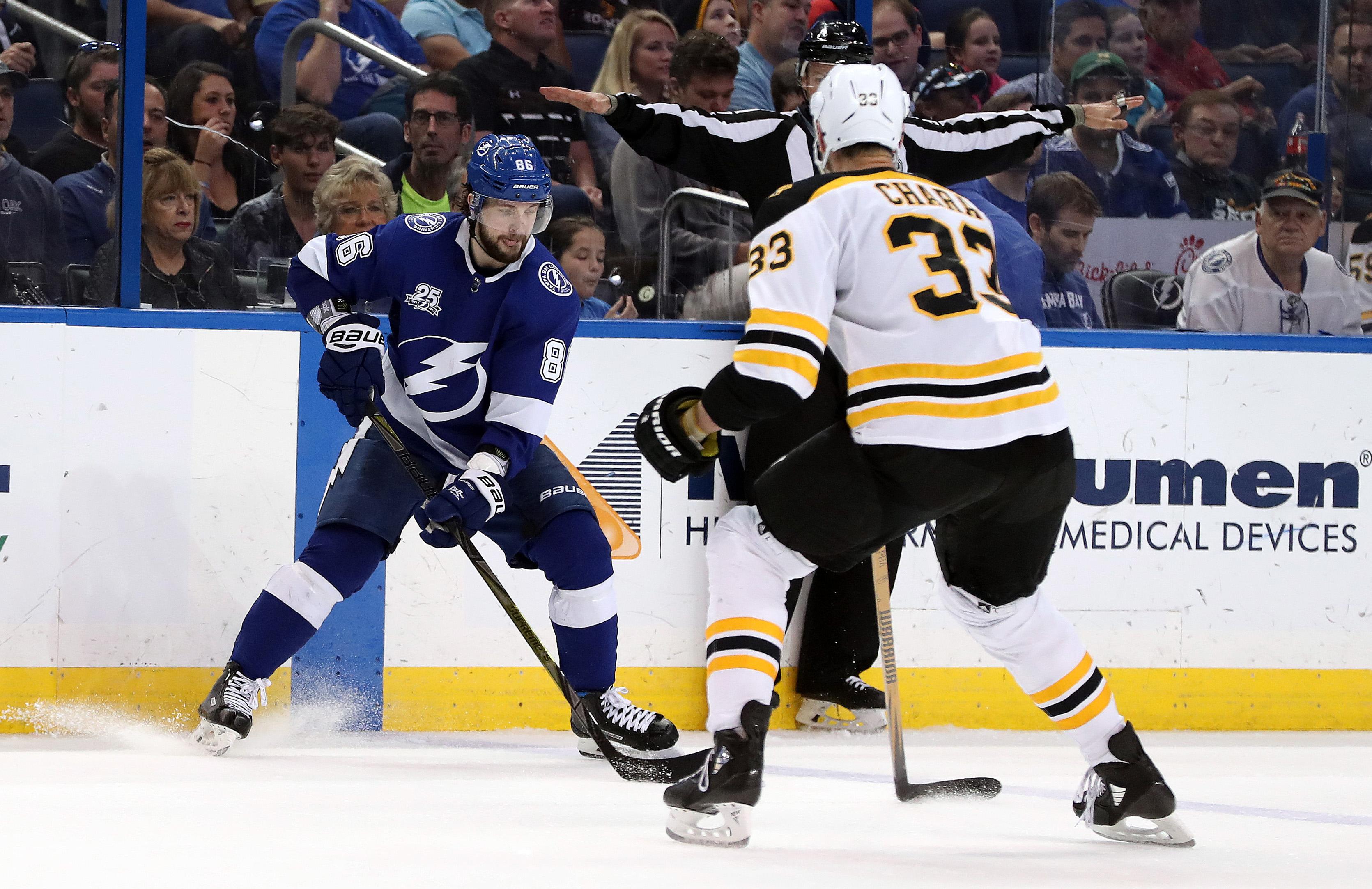 NHL: Boston Bruins at Tampa Bay Lightning