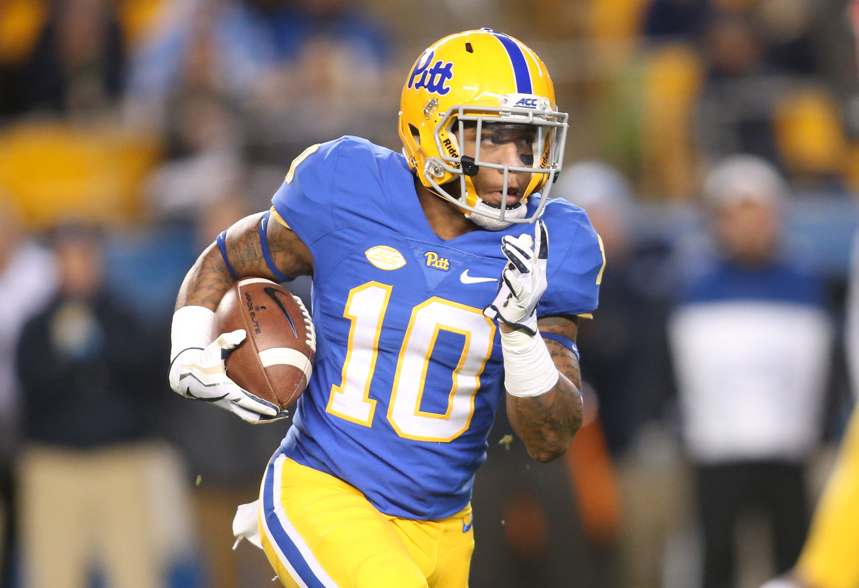 09e13dcdd Pitt receiver Quadree Henderson goes undrafted, to join Steelers as free  agent. By CardiacHill ...