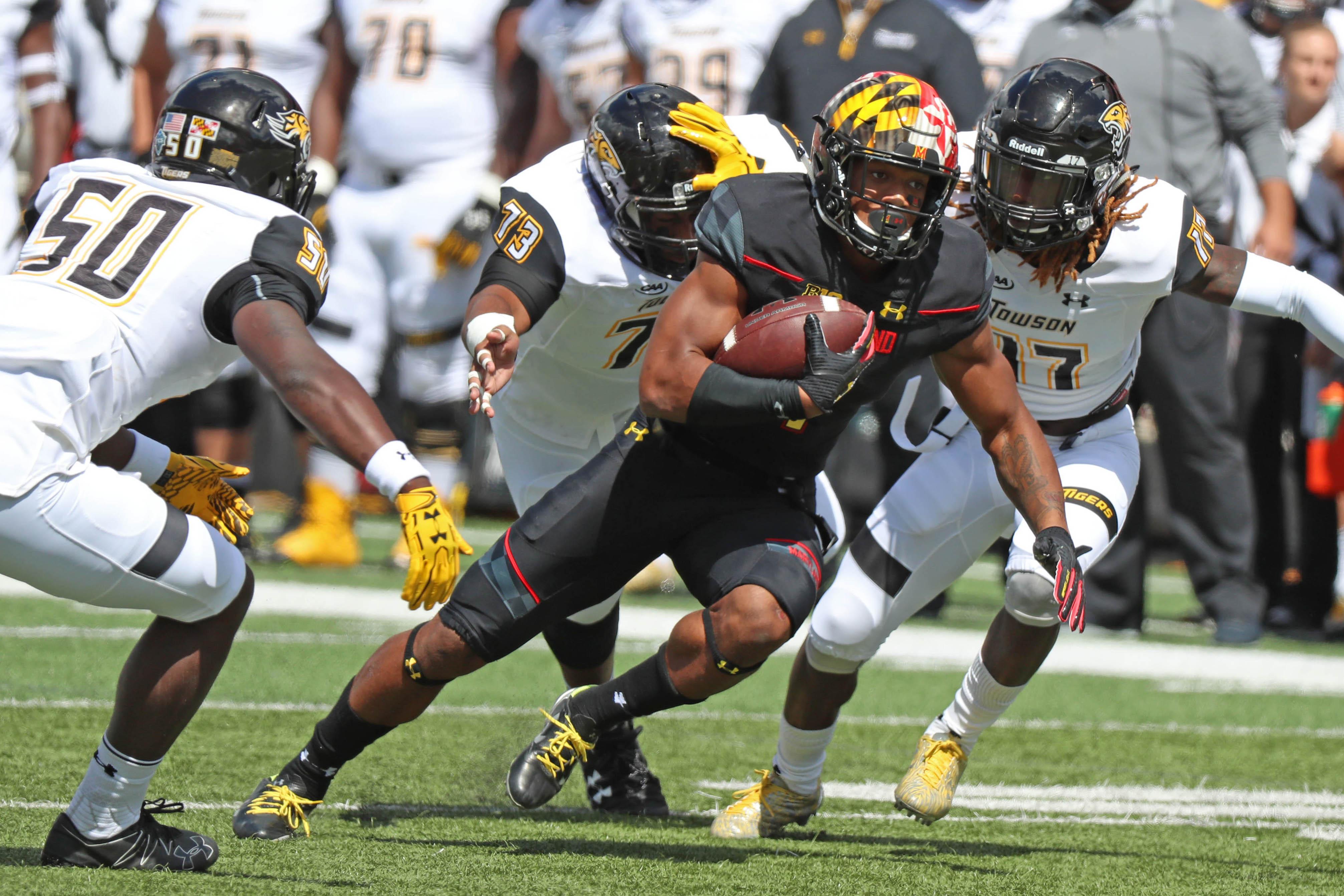NCAA Football: Towson at Maryland