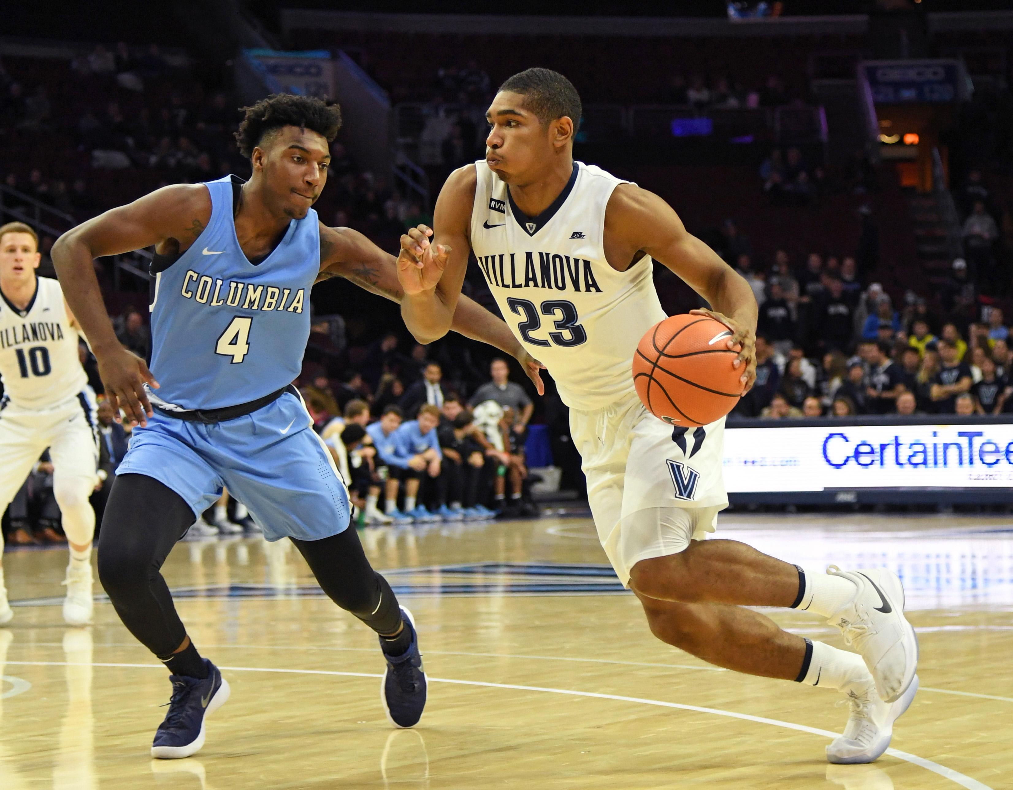 NCAA Basketball: Columbia at Villanova