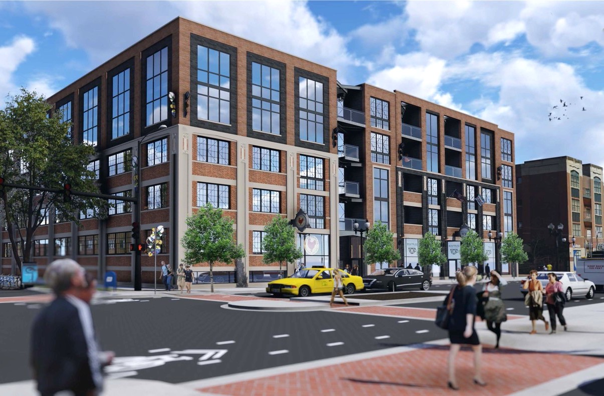 Vacant Ravenswood Building Readies For Apartment And Retail Reuse