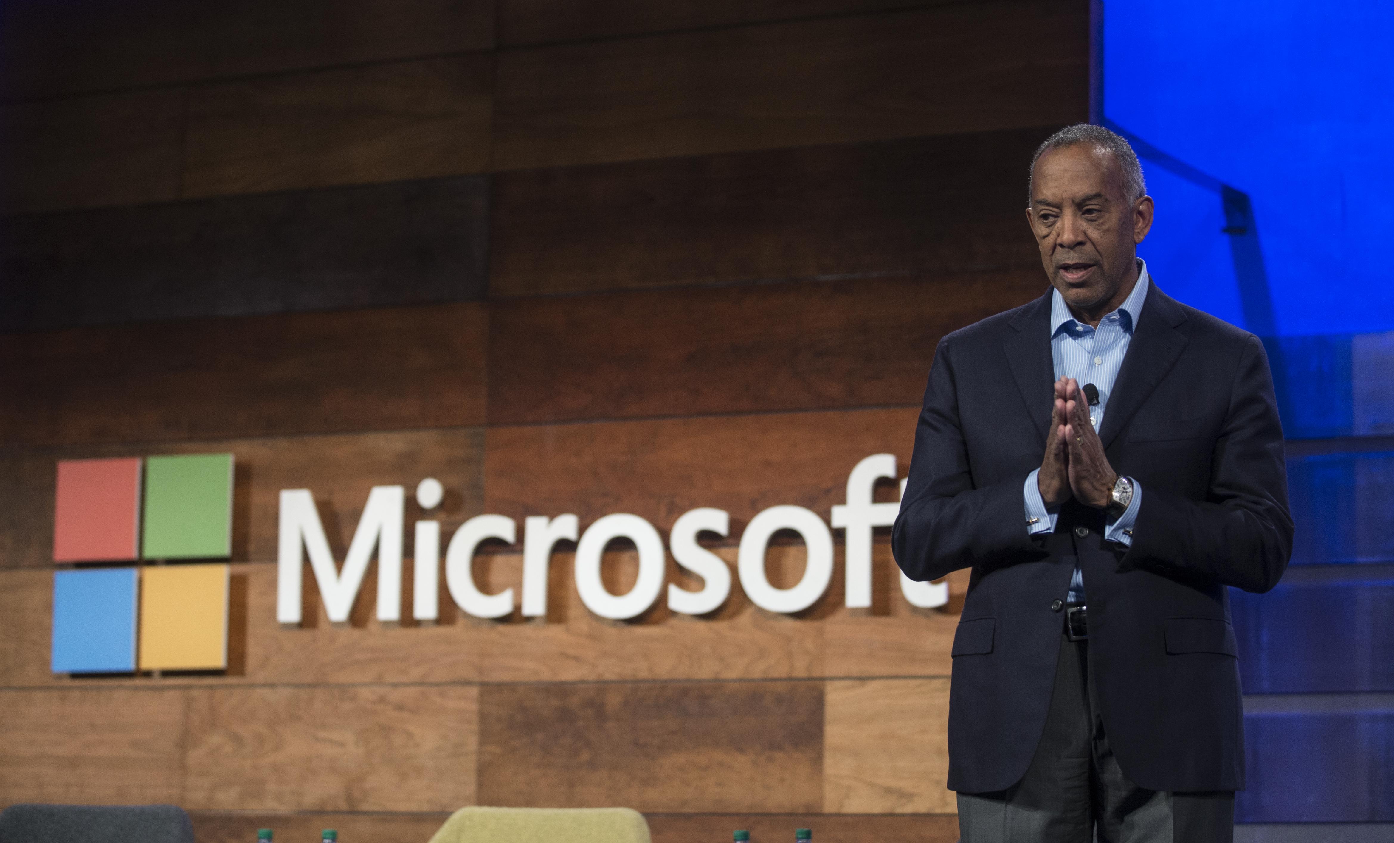 Microsoft Chairman of the Board John Thompson