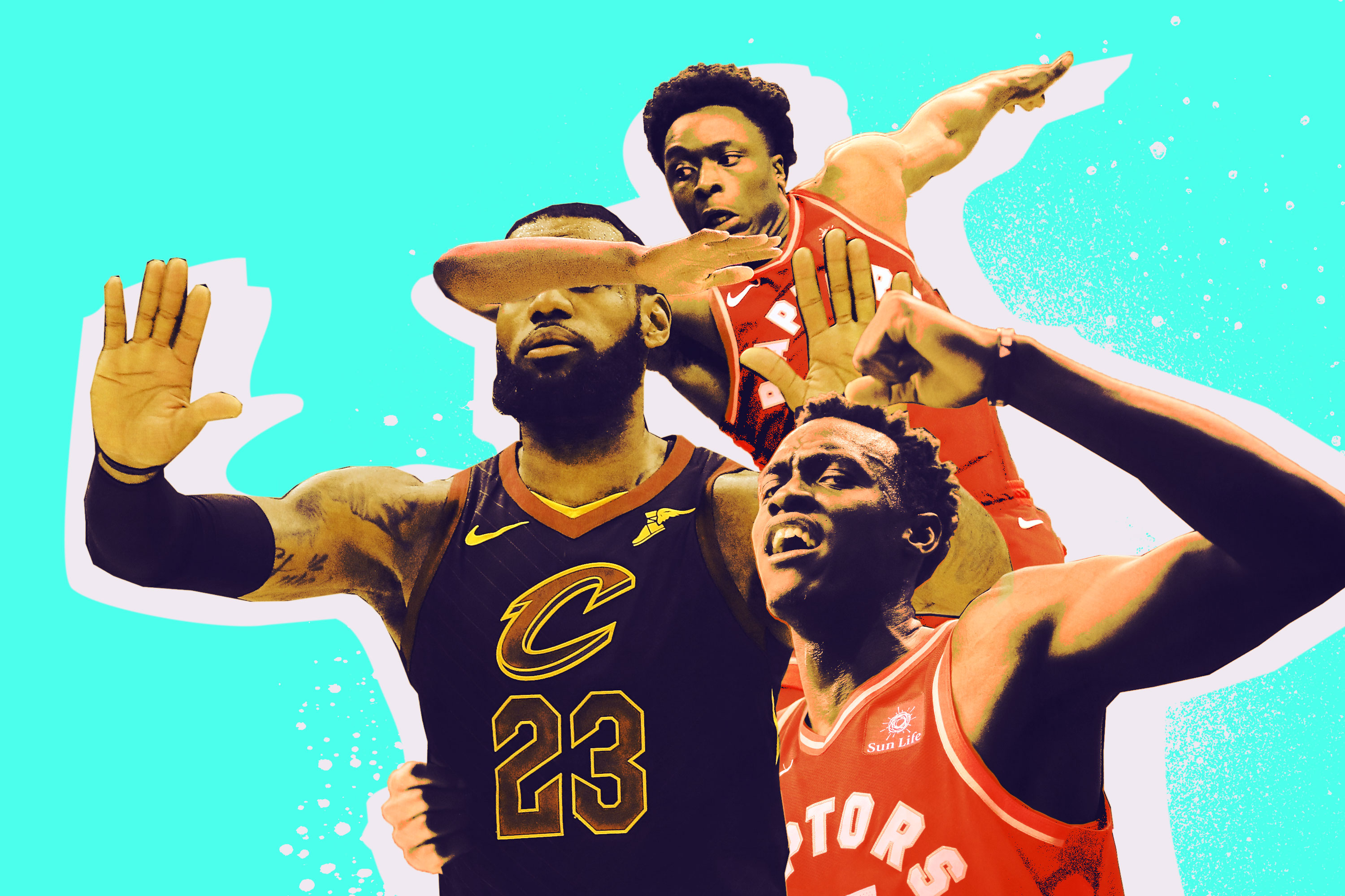86aa44ee2304 Do the Raptors Have Any LeBron Stoppers on Their Team  - The Ringer