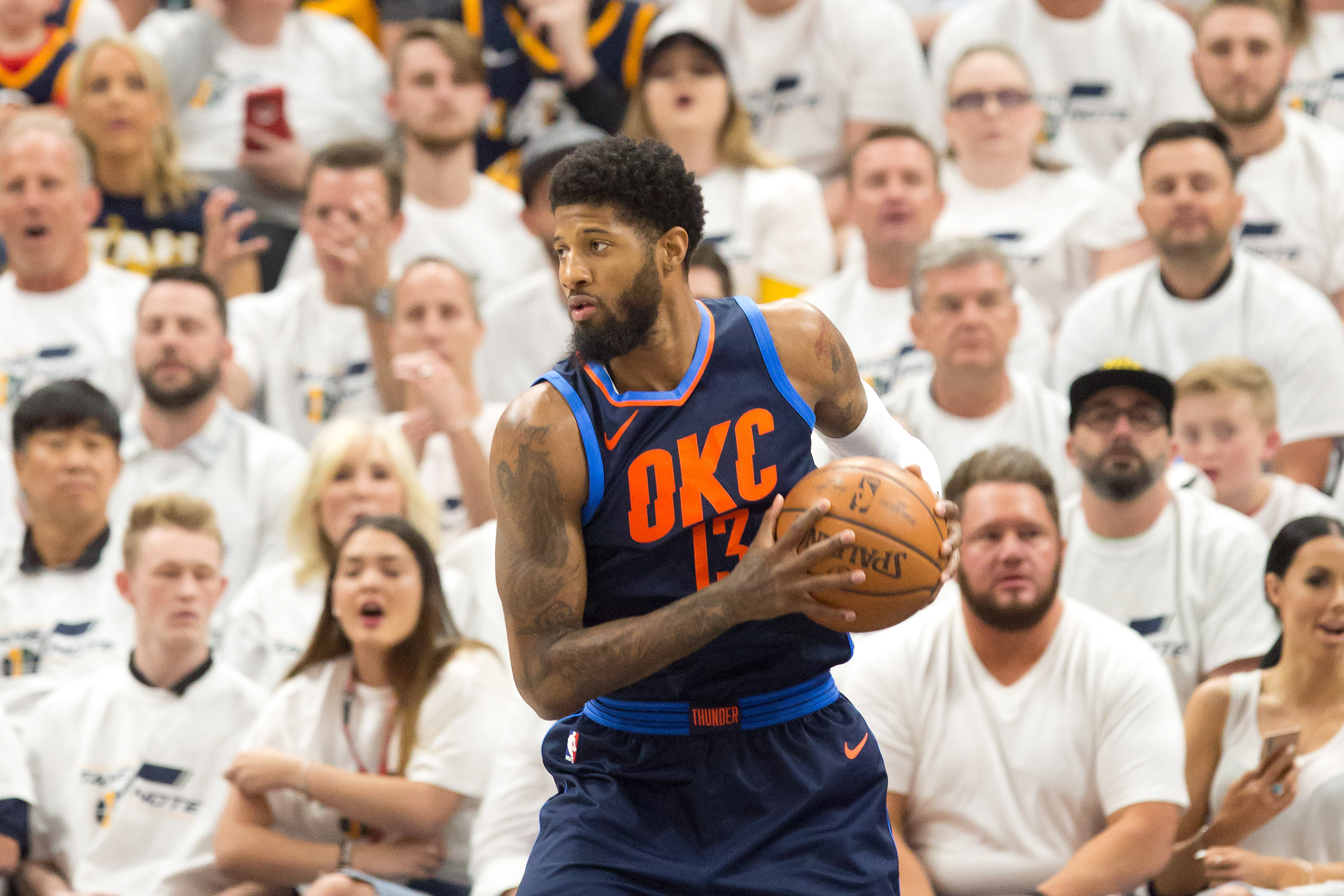 757a21642c72 Lakers Free Agent Rumors  Paul George is  gone  after first-round exit with  the Thunder