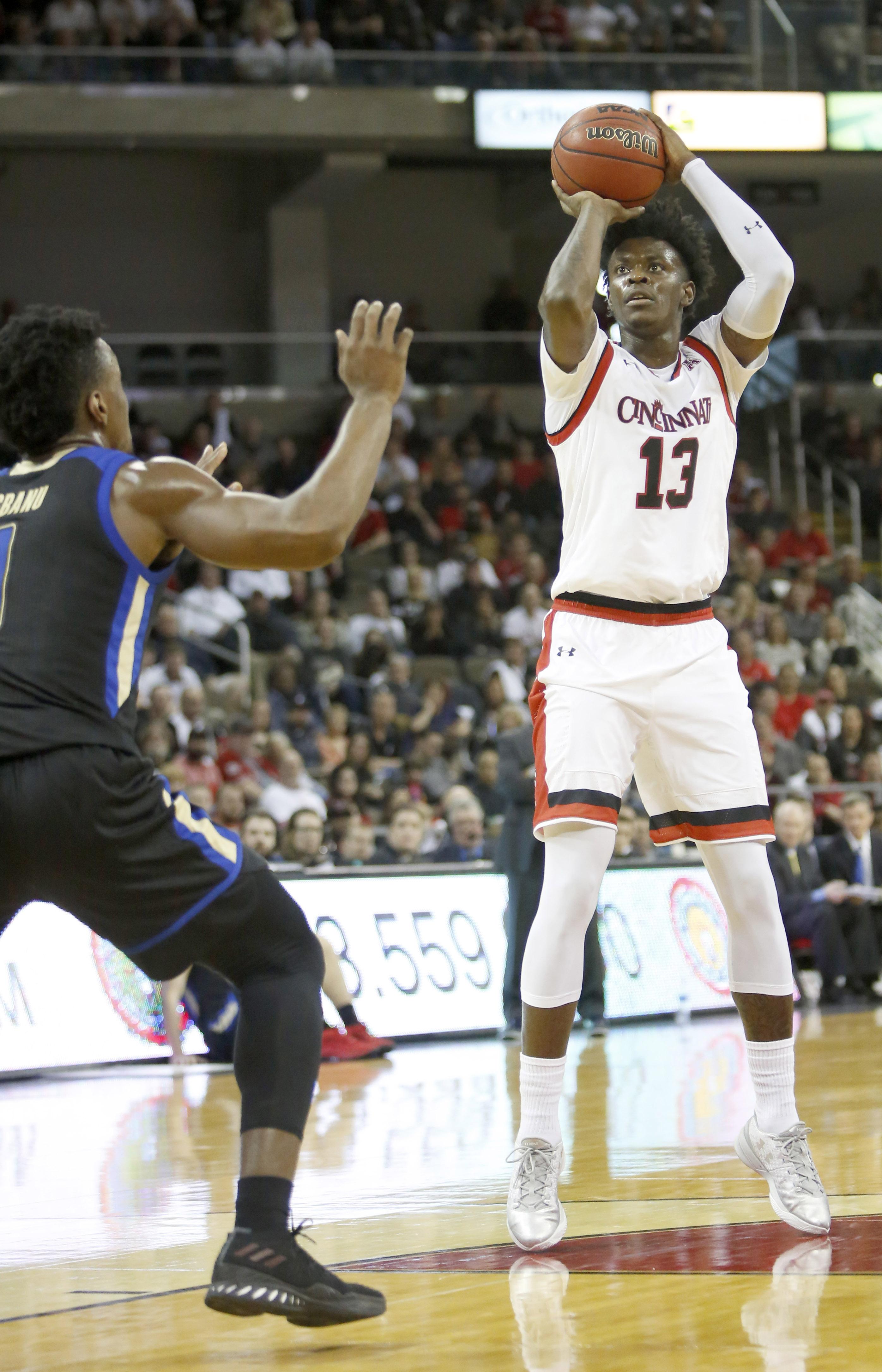NCAA Basketball: Tulsa at Cincinnati