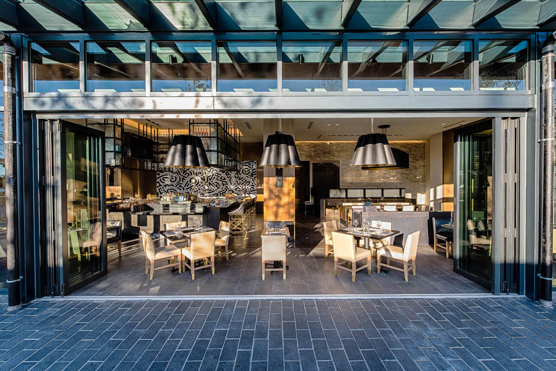 The dining room at Kith/Kin