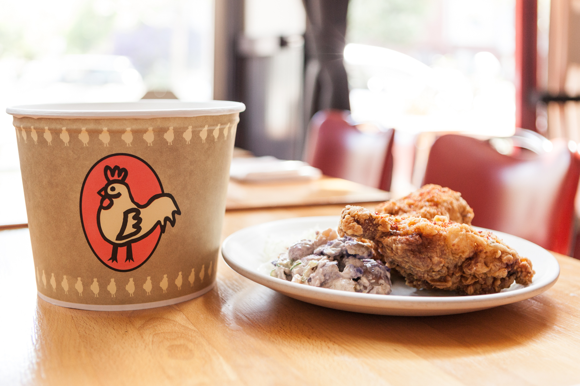 Fried chicken to go from Hopscotch
