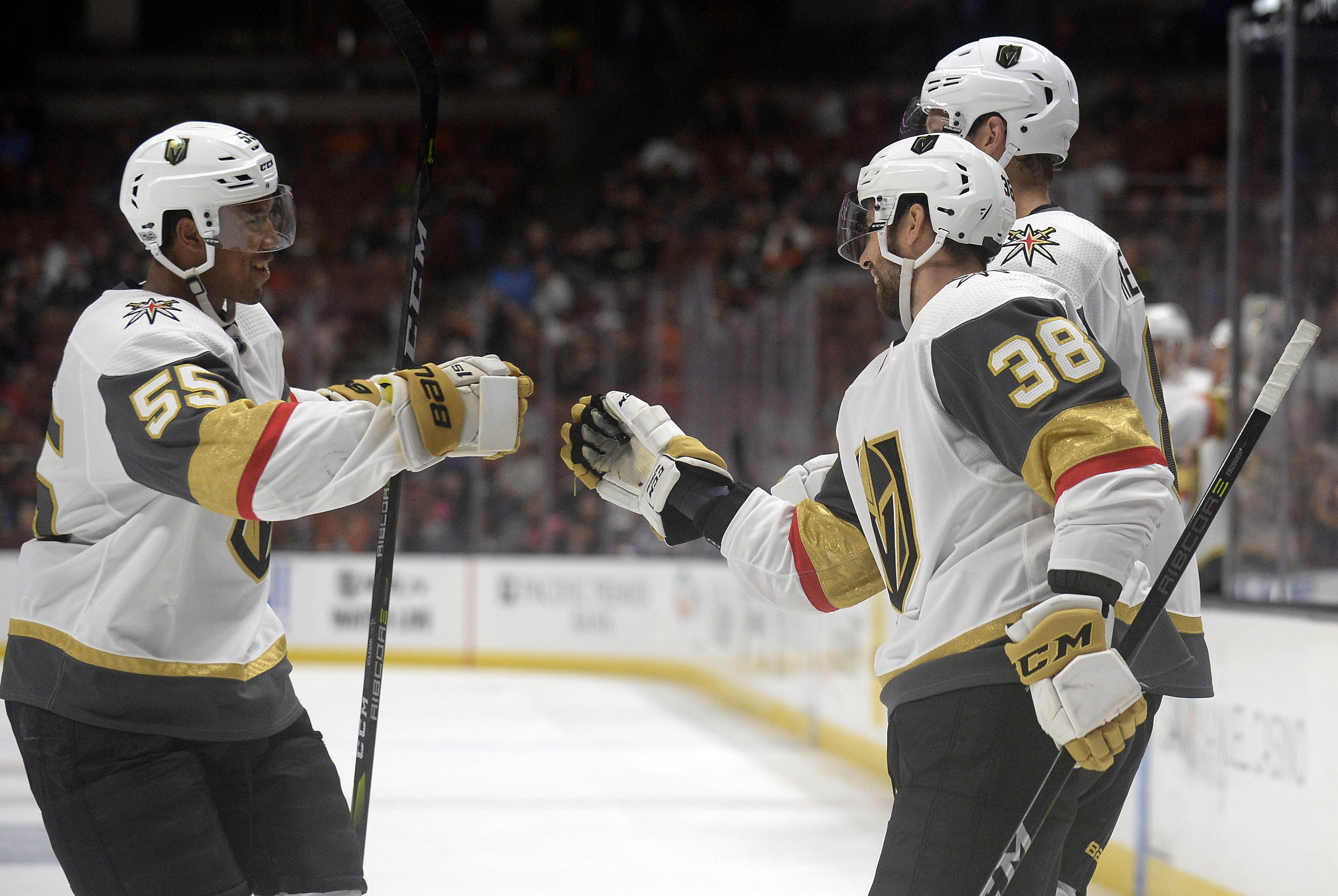 NHL: Preseason-Vegas Golden Knights at Anaheim Ducks