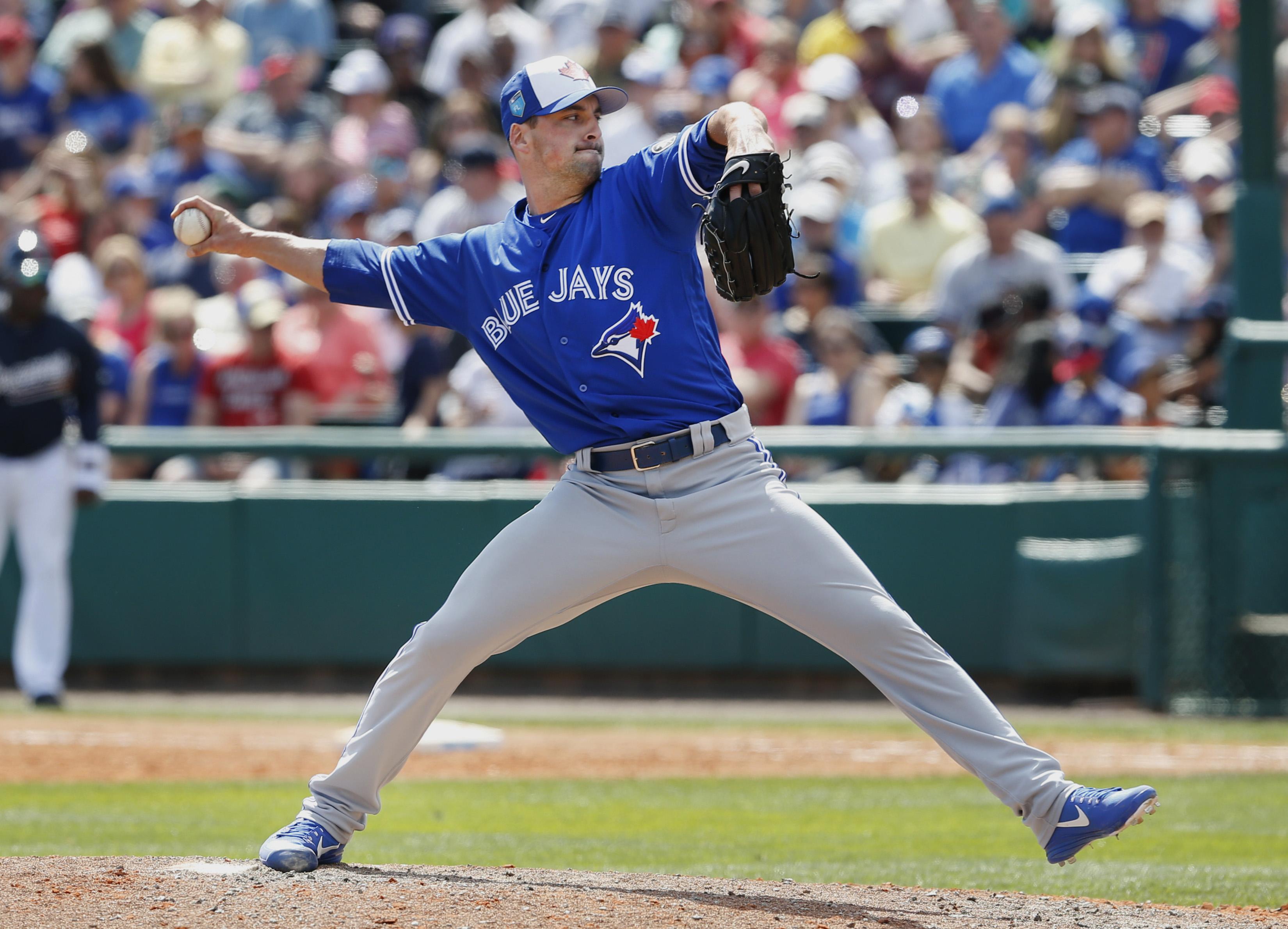 MLB: Spring Training-Toronto Blue Jays at Atlanta Braves
