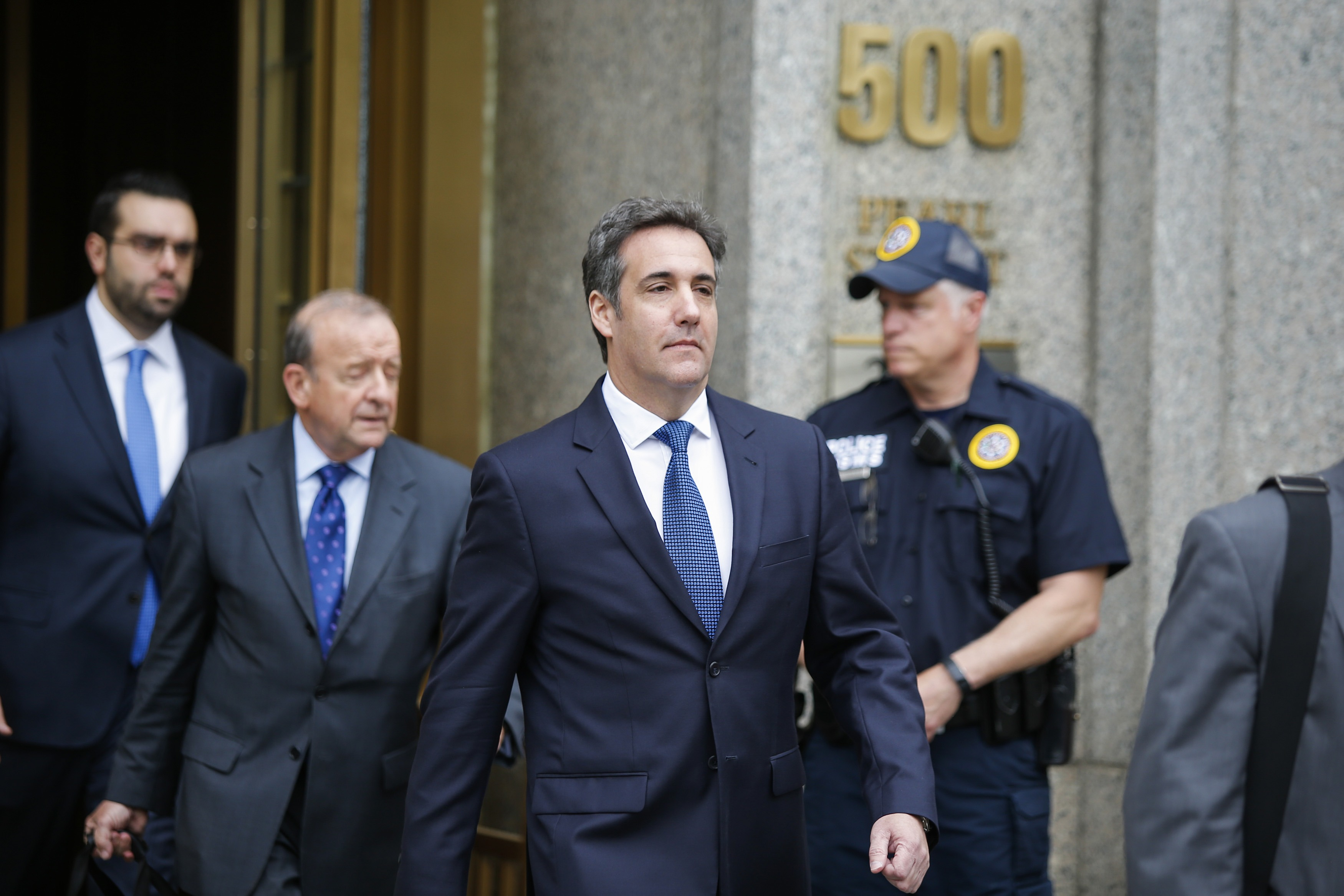 Former Trump Lawyer Michael Cohen Returns To Court In New York City