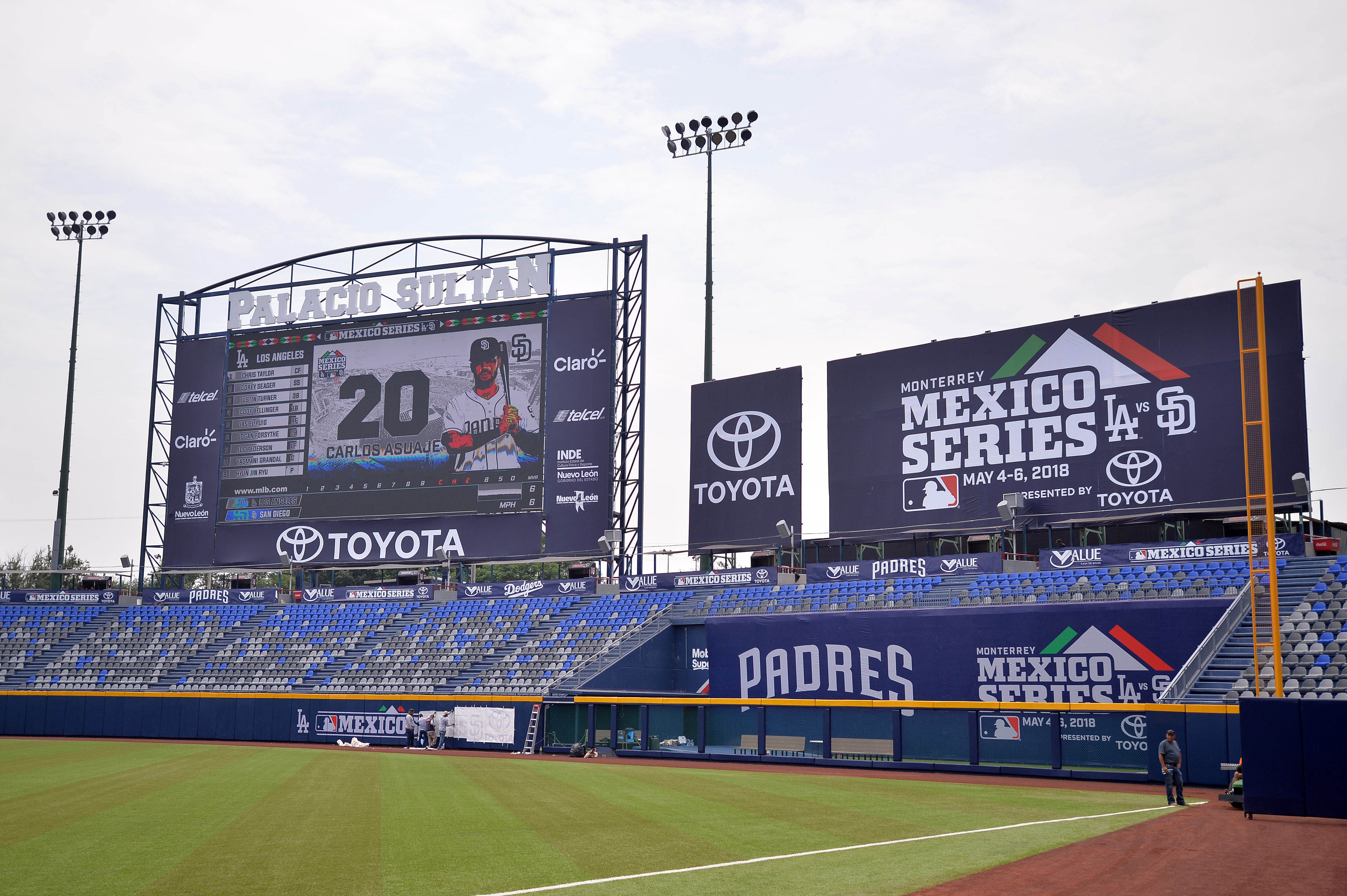 MLB: Monterey Mexico Series-Features