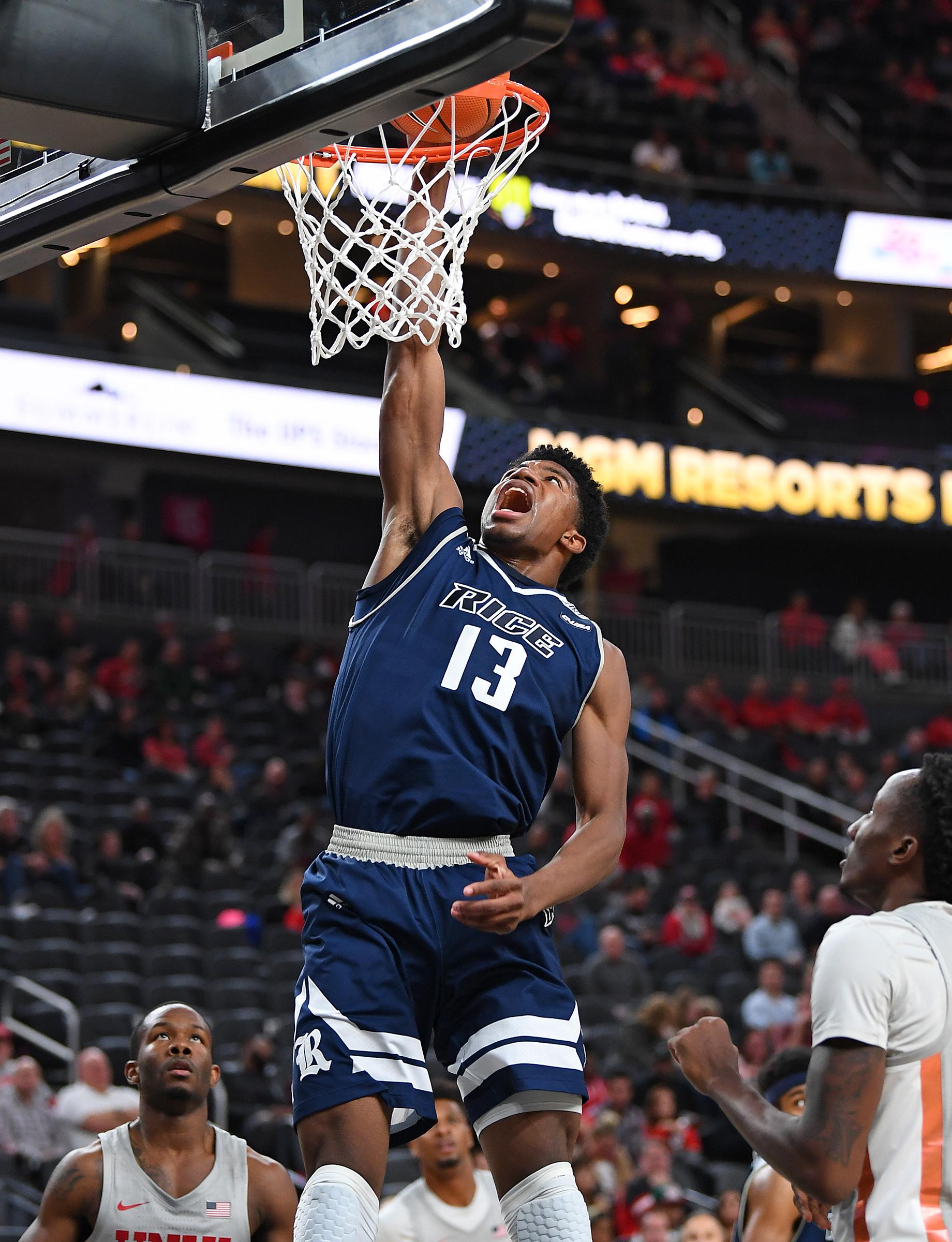 NCAA Basketball: Rice at UNLV