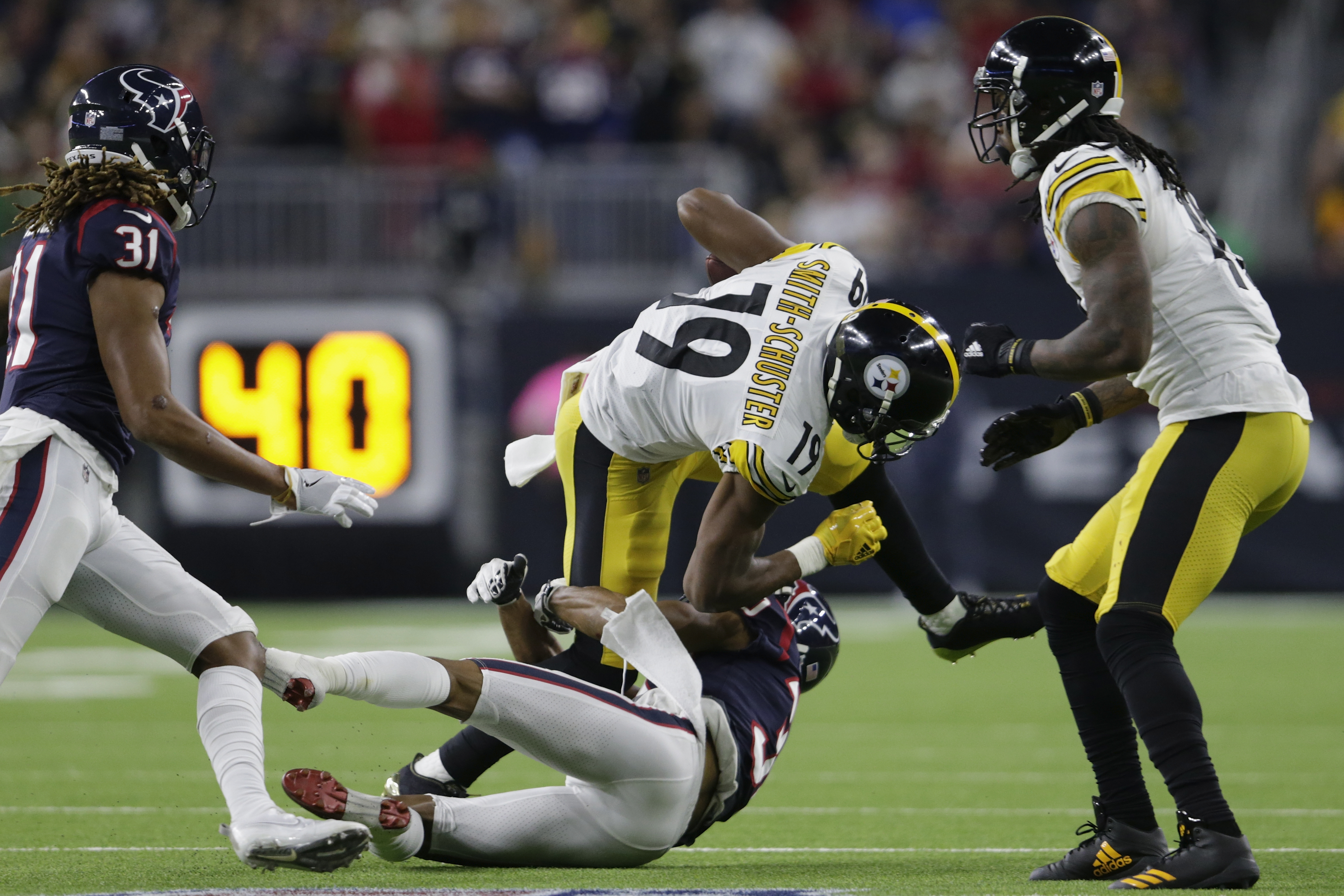 Pittsburgh Steelers v Houston Texans