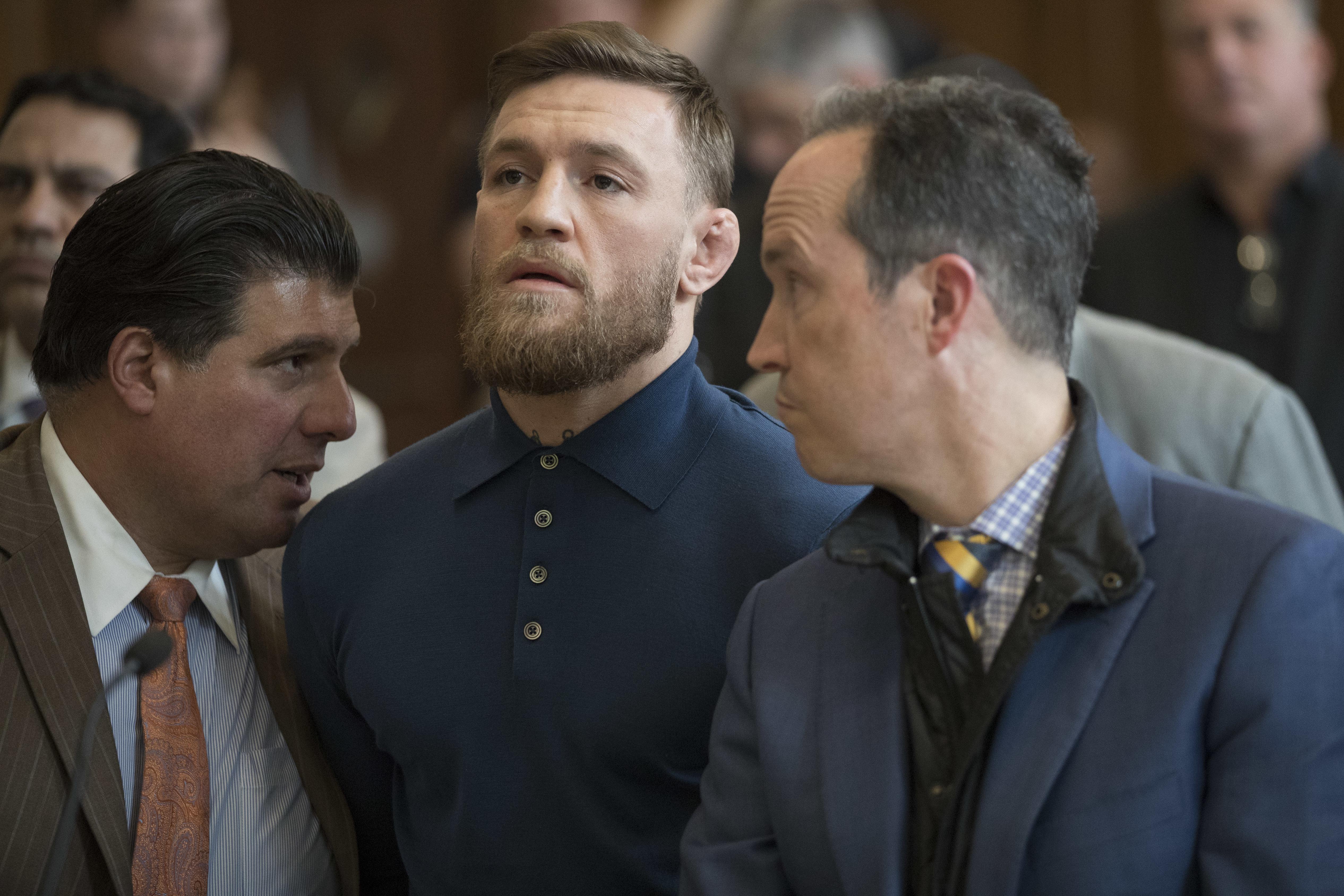 Conor McGregor Is Arrainged In Brooklyn Criminal Court