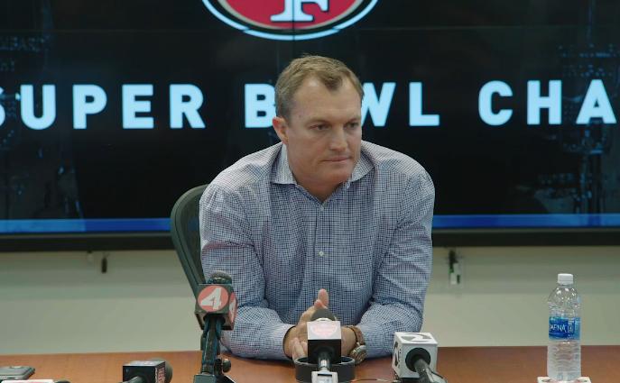 John Lynch press conference video
