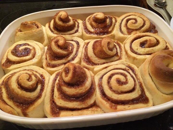 Teal House's cinnamon rolls