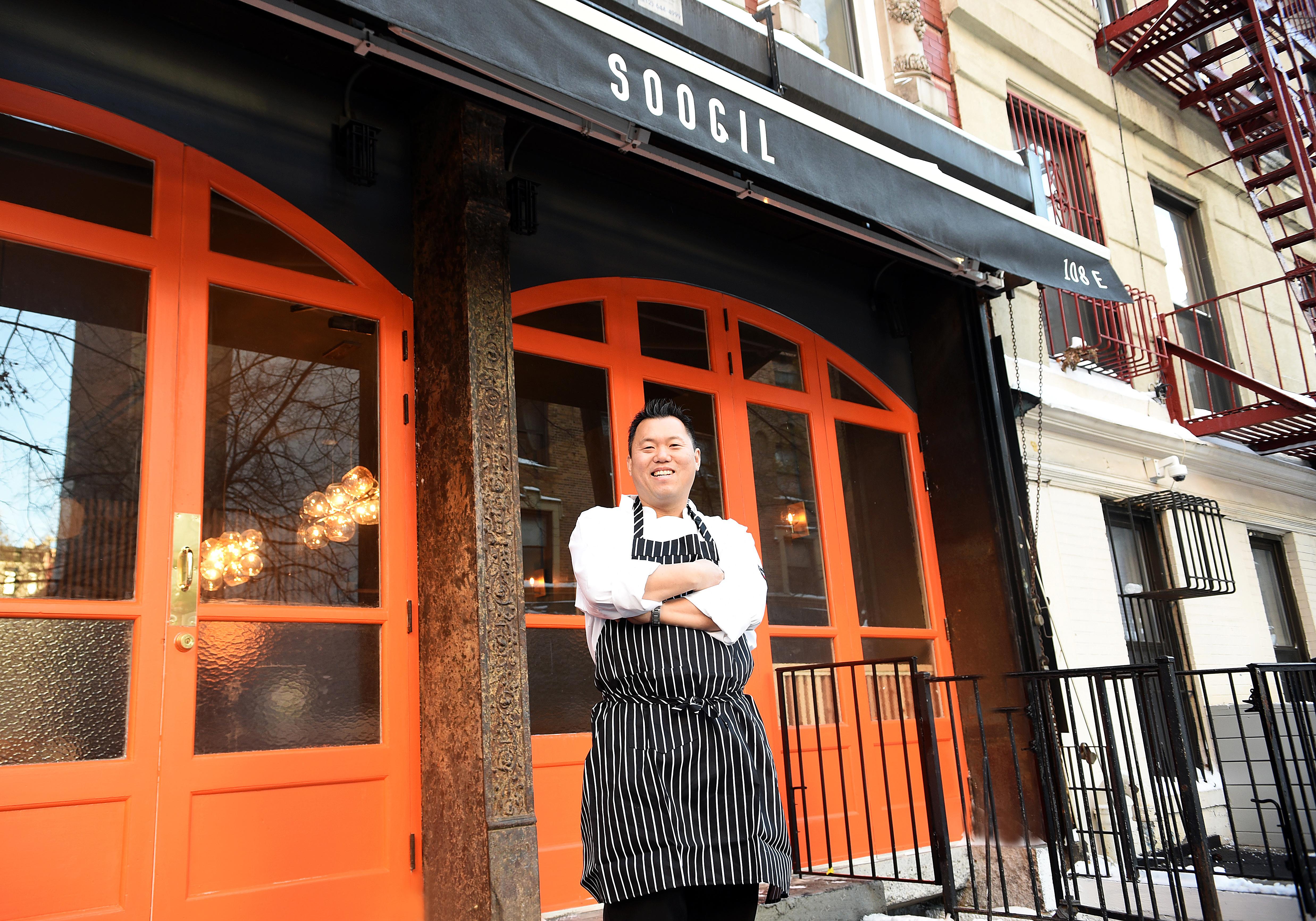 Chef Soogil Lim at Soogil