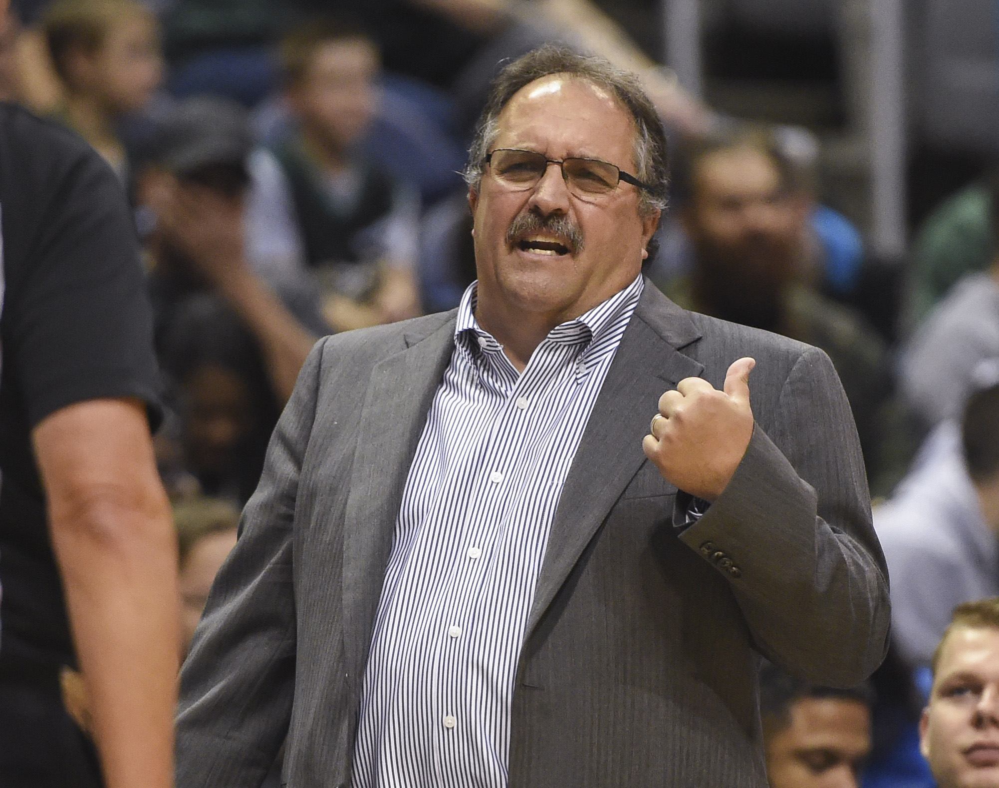 NBA: Preseason-Detroit Pistons at Milwaukee Bucks