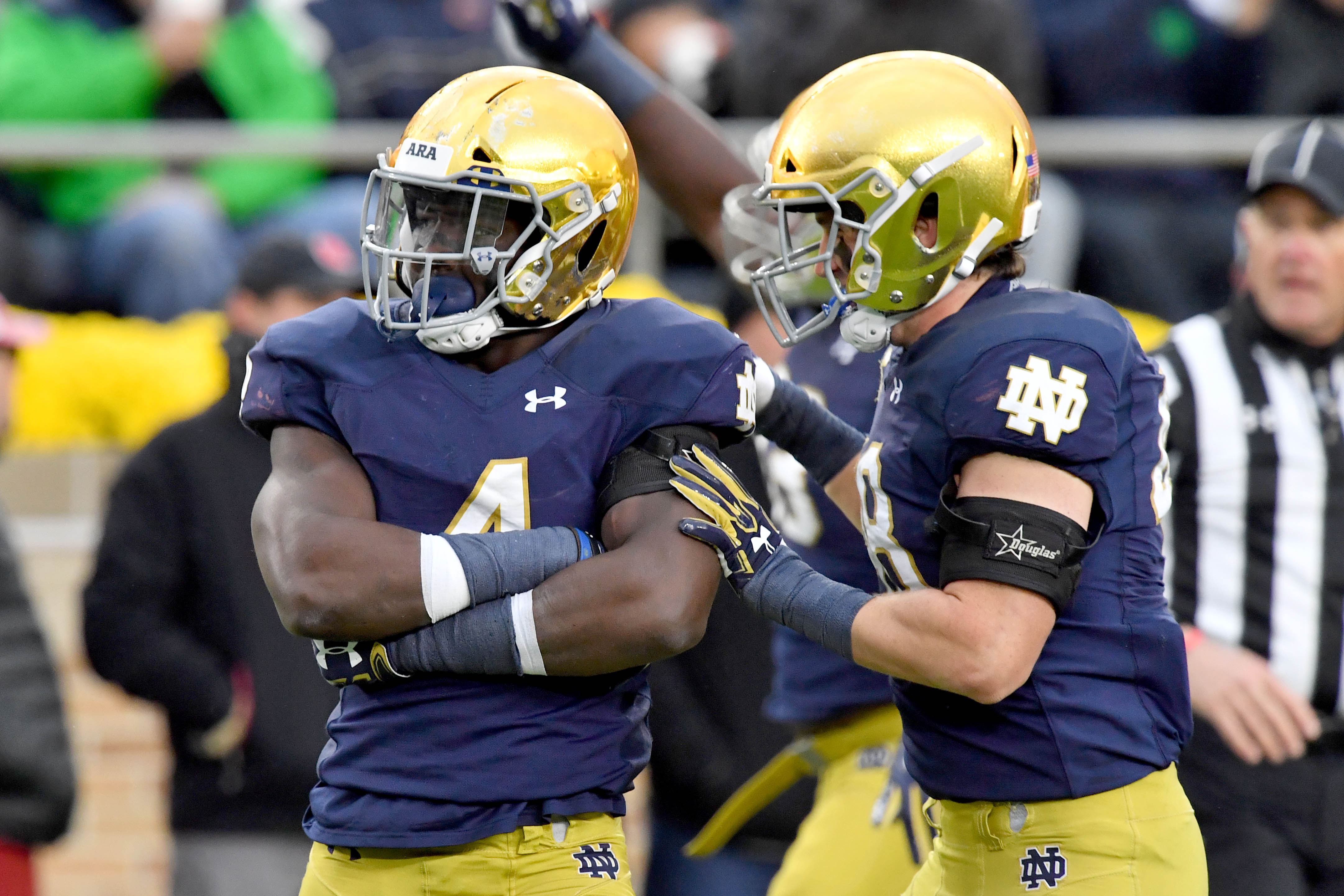 separation shoes 5878c 759cb This Guy Plays Notre Dame Football: #4 Te'von Coney - One ...
