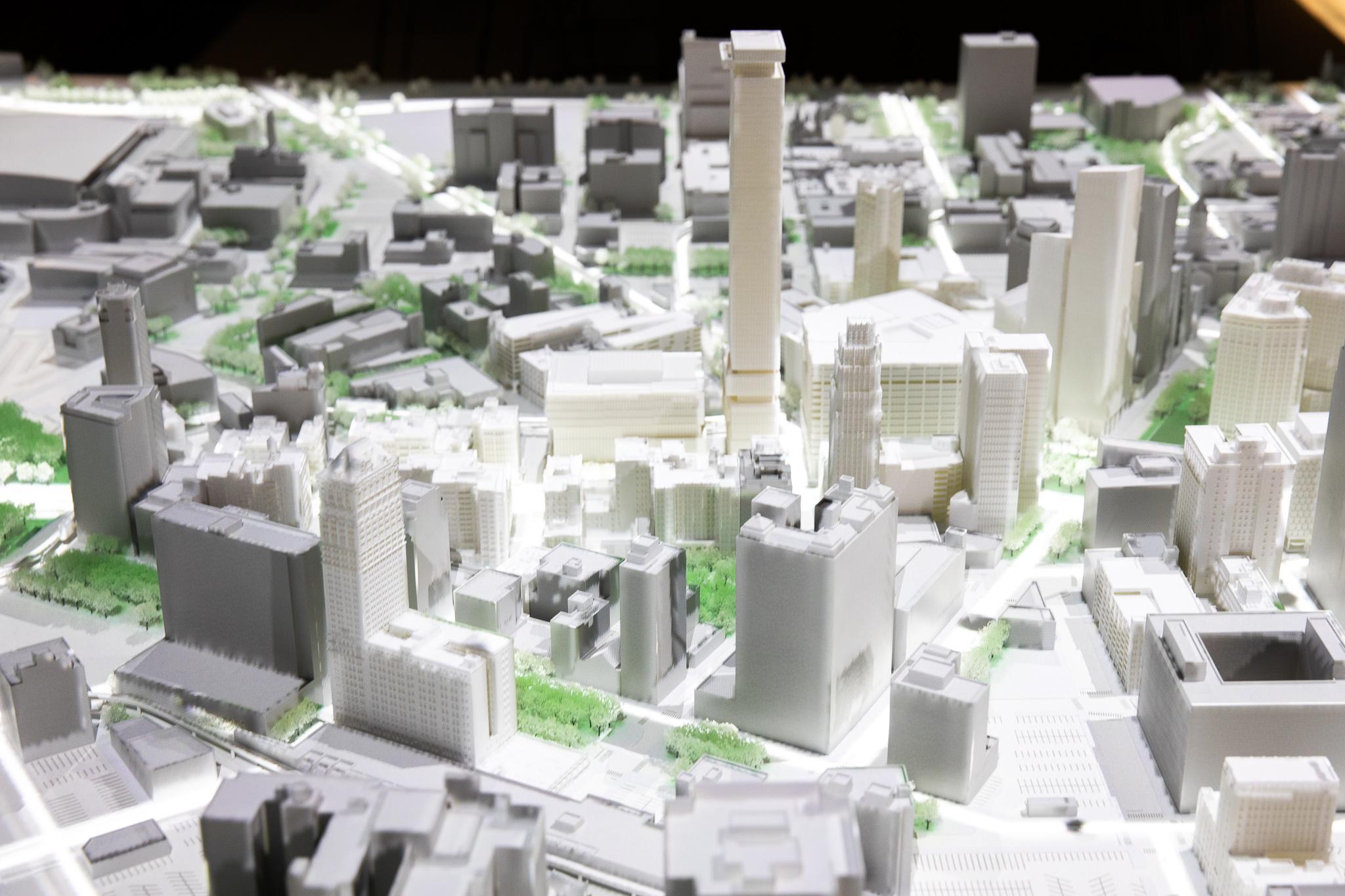Bedrocku0027s 3D model shows Detroitu0027s skyline of