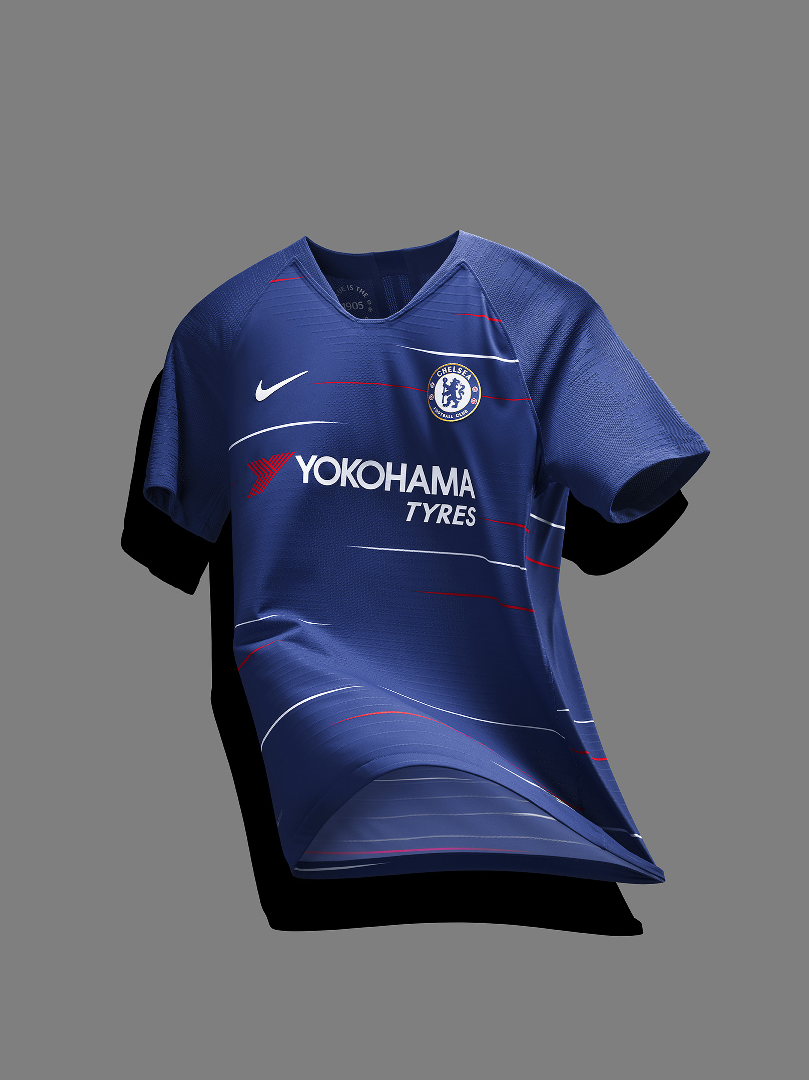 Chelsea unveil 1980s-inspired Nike 2018-19 home kit d1e082b00