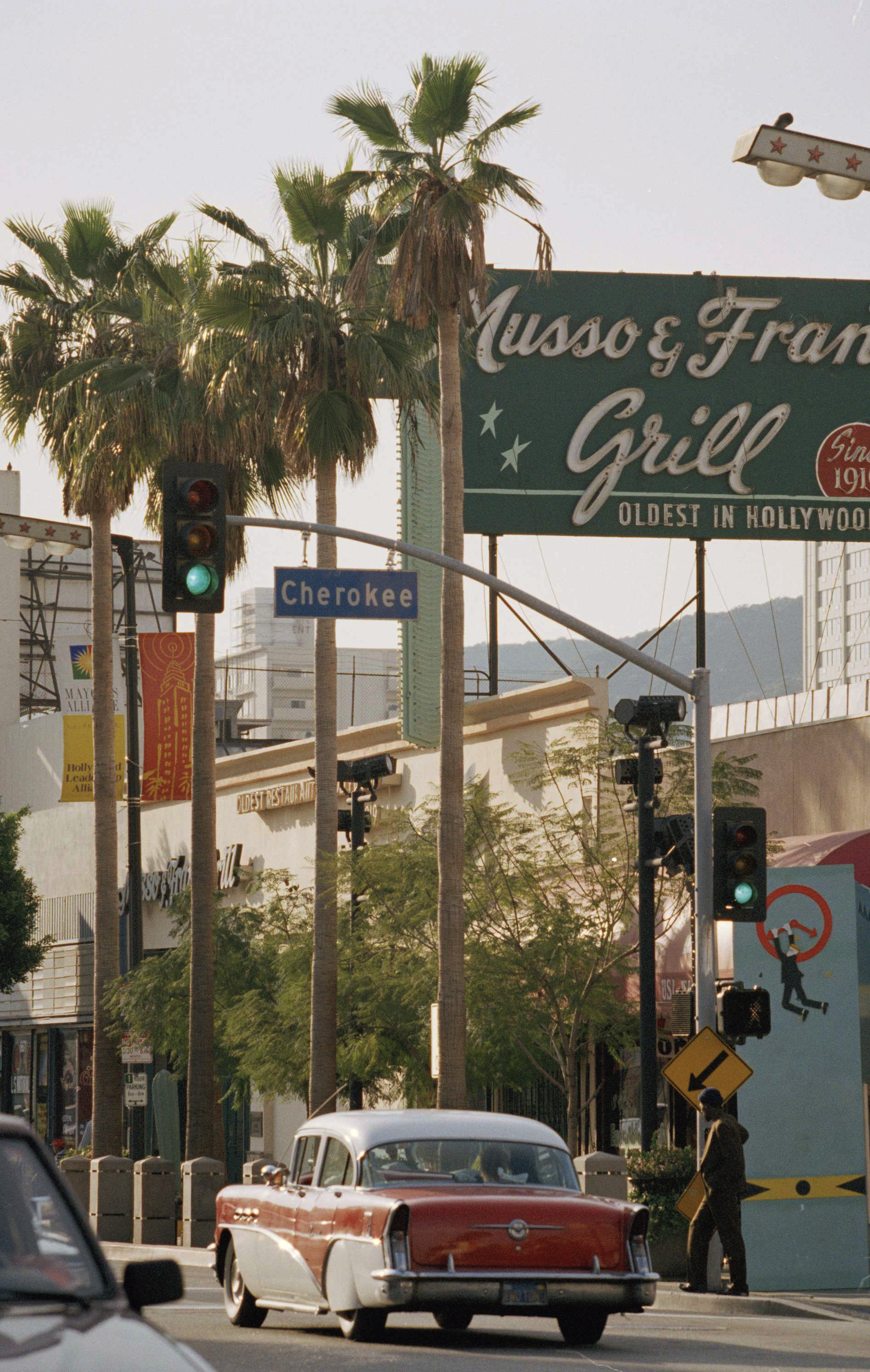 Musso & Frank Grill on Hollywood Boulevard.