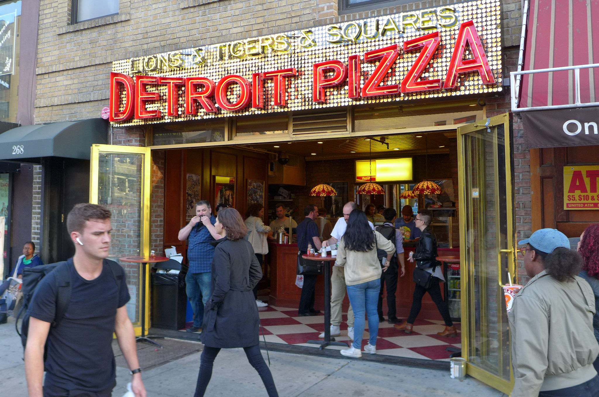 The latest purveyor of Detroit style pizza is Chelsea's Lions & Tigers & Squares.