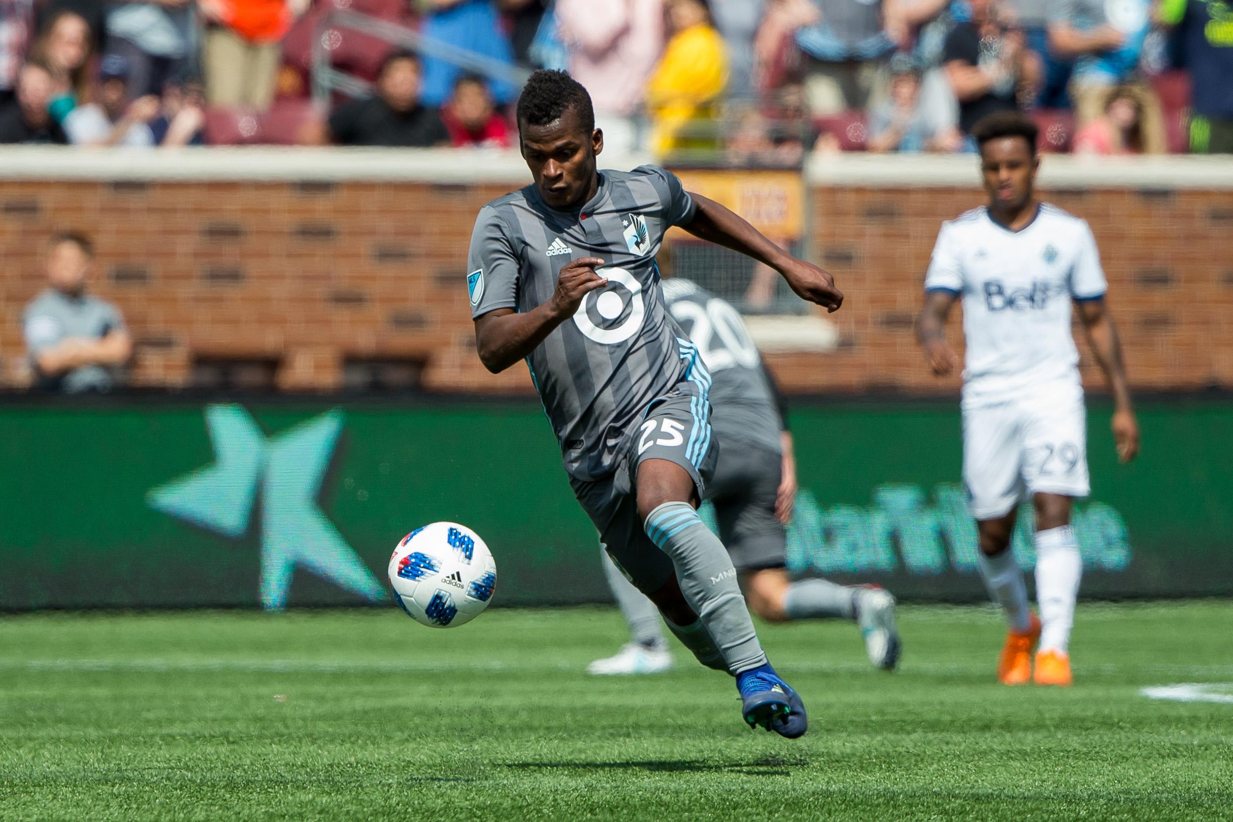 MLS: Vancouver Whitecaps at Minnesota United FC
