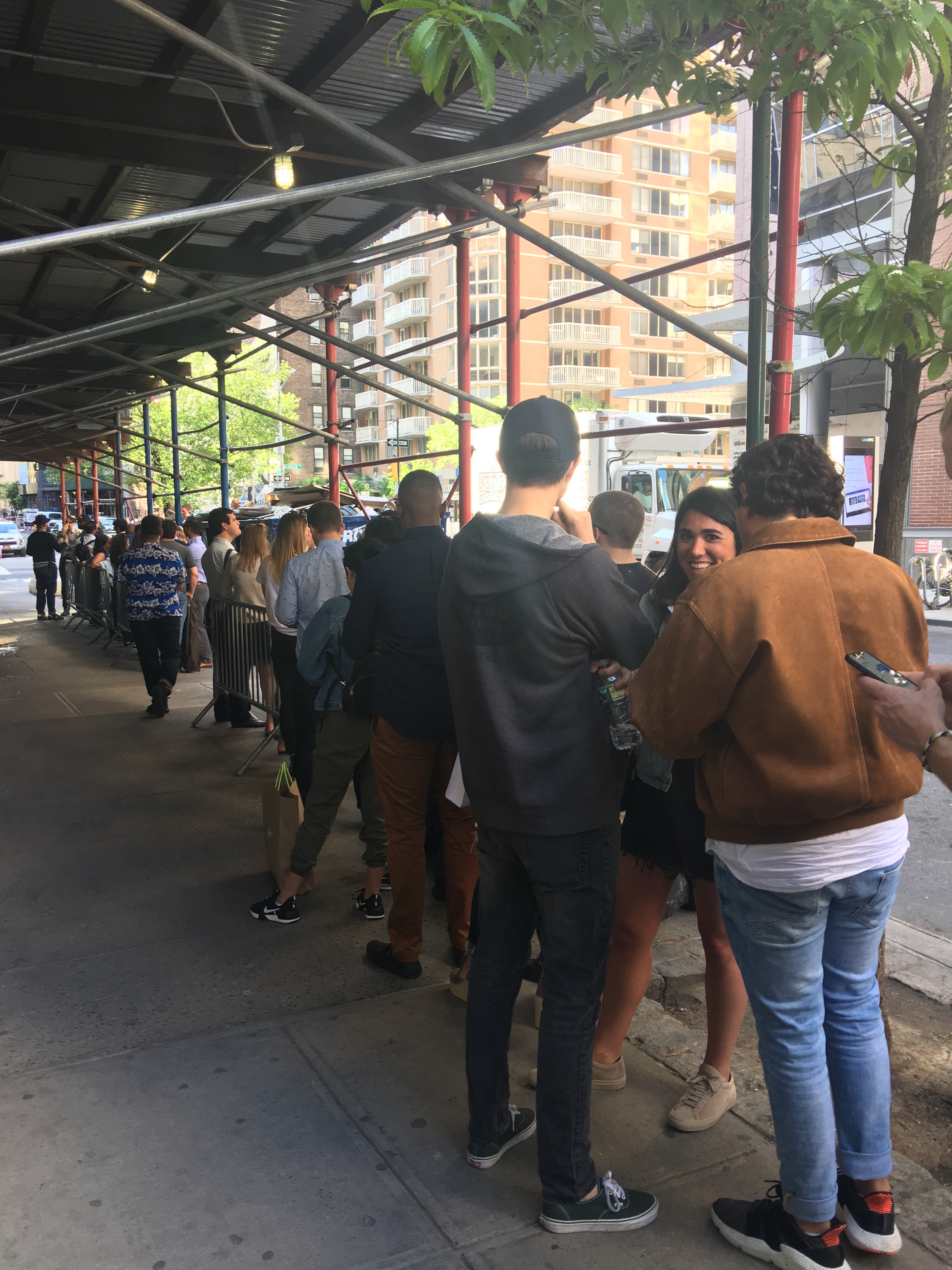 Thirsty New Yorkers Already Lining the Block to Try Broken Shaker
