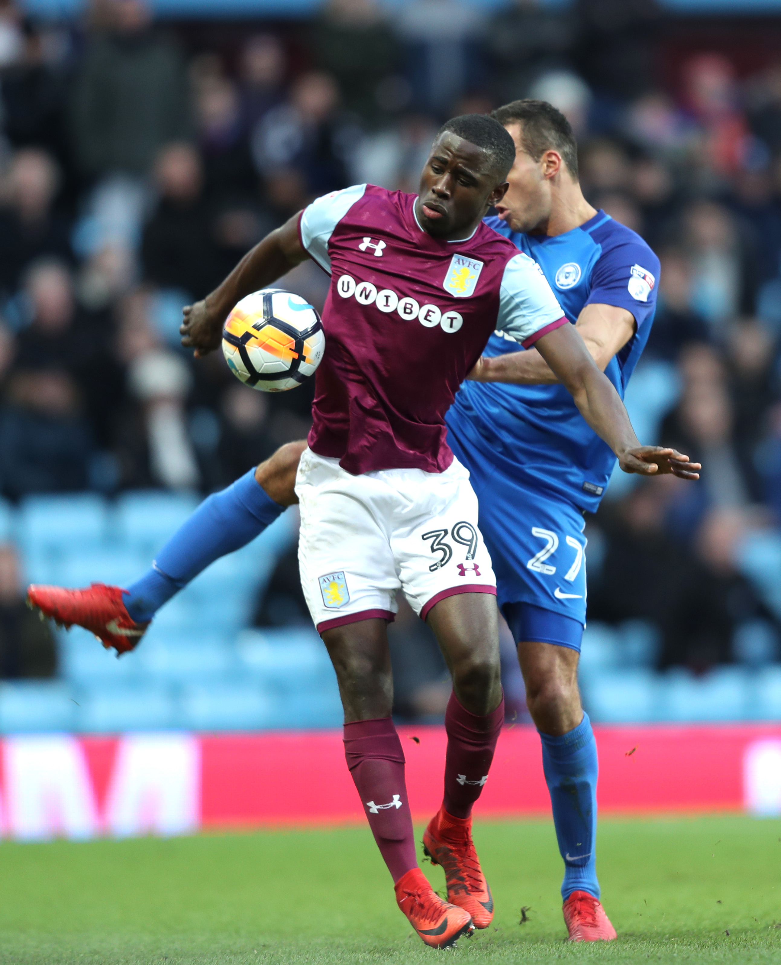 Aston Villa v Peterborough United - The Emirates FA Cup Third Round
