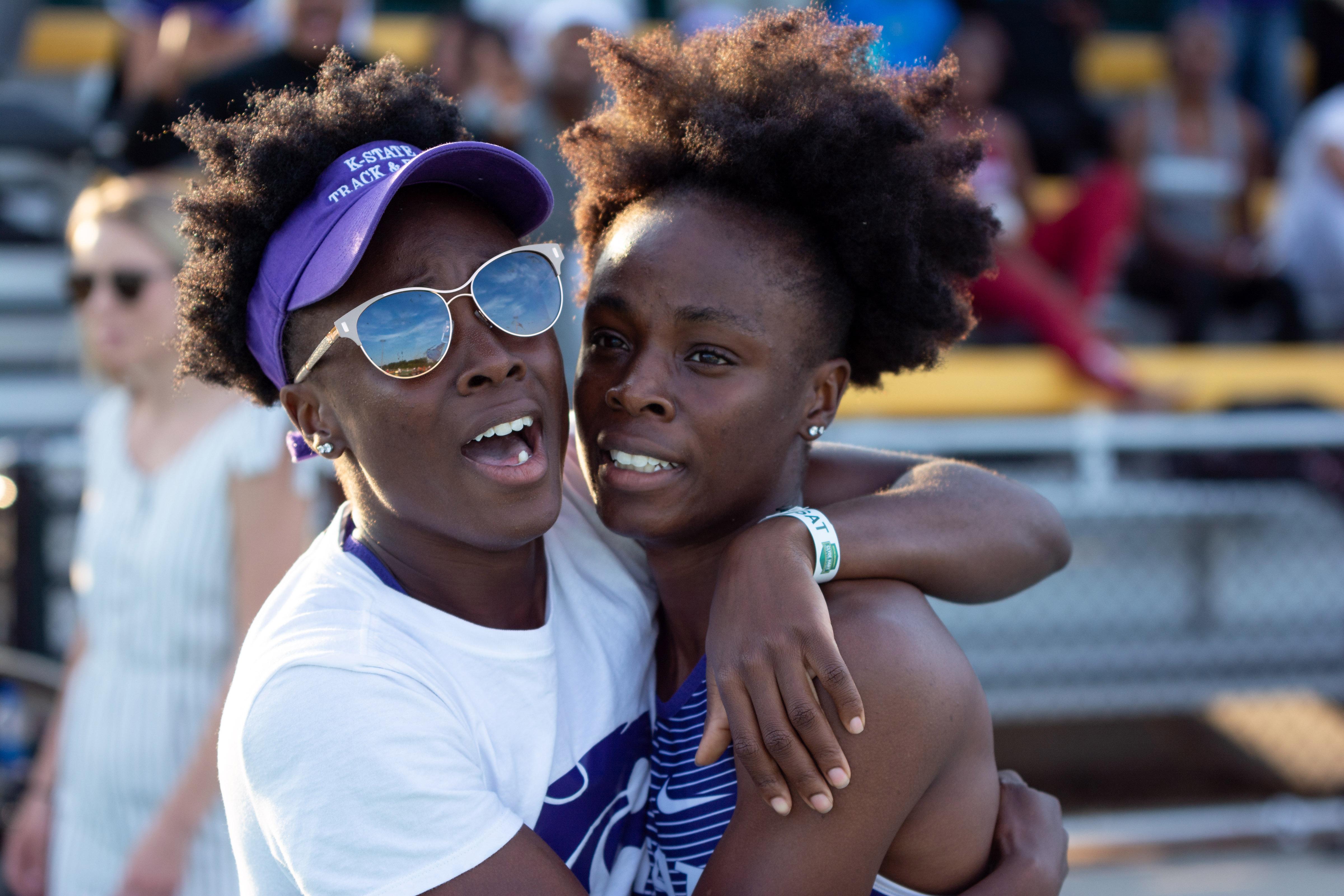 Ranae McKenzie captured the women's 400m hurdles title.