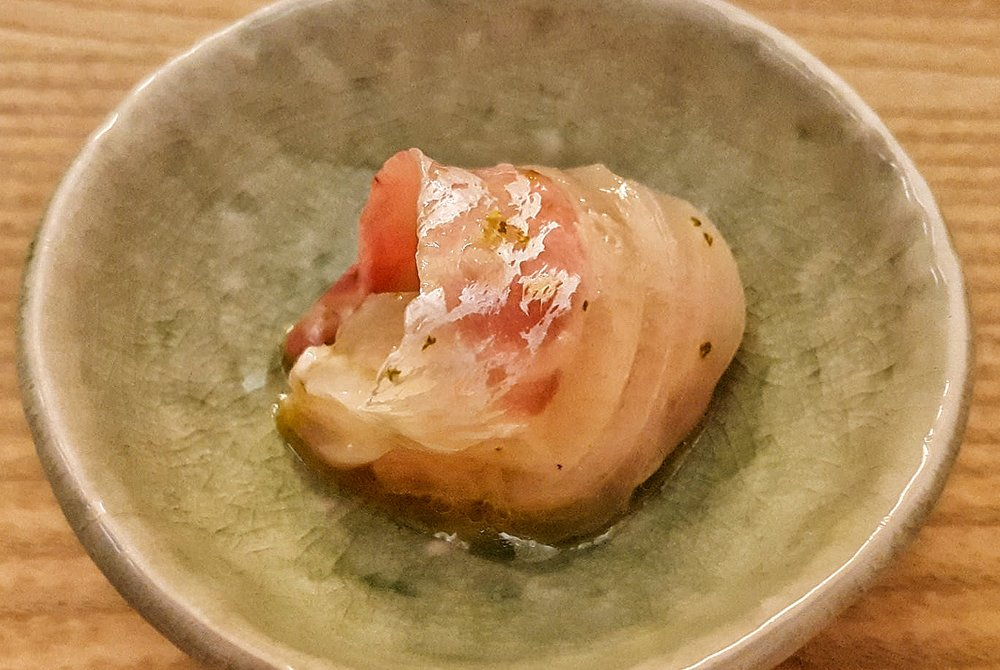 Red snapper from Kyoten Sushiko