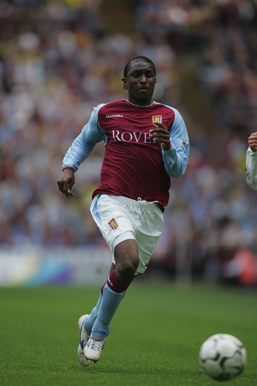 Jlloyd Samuel of Aston Villa