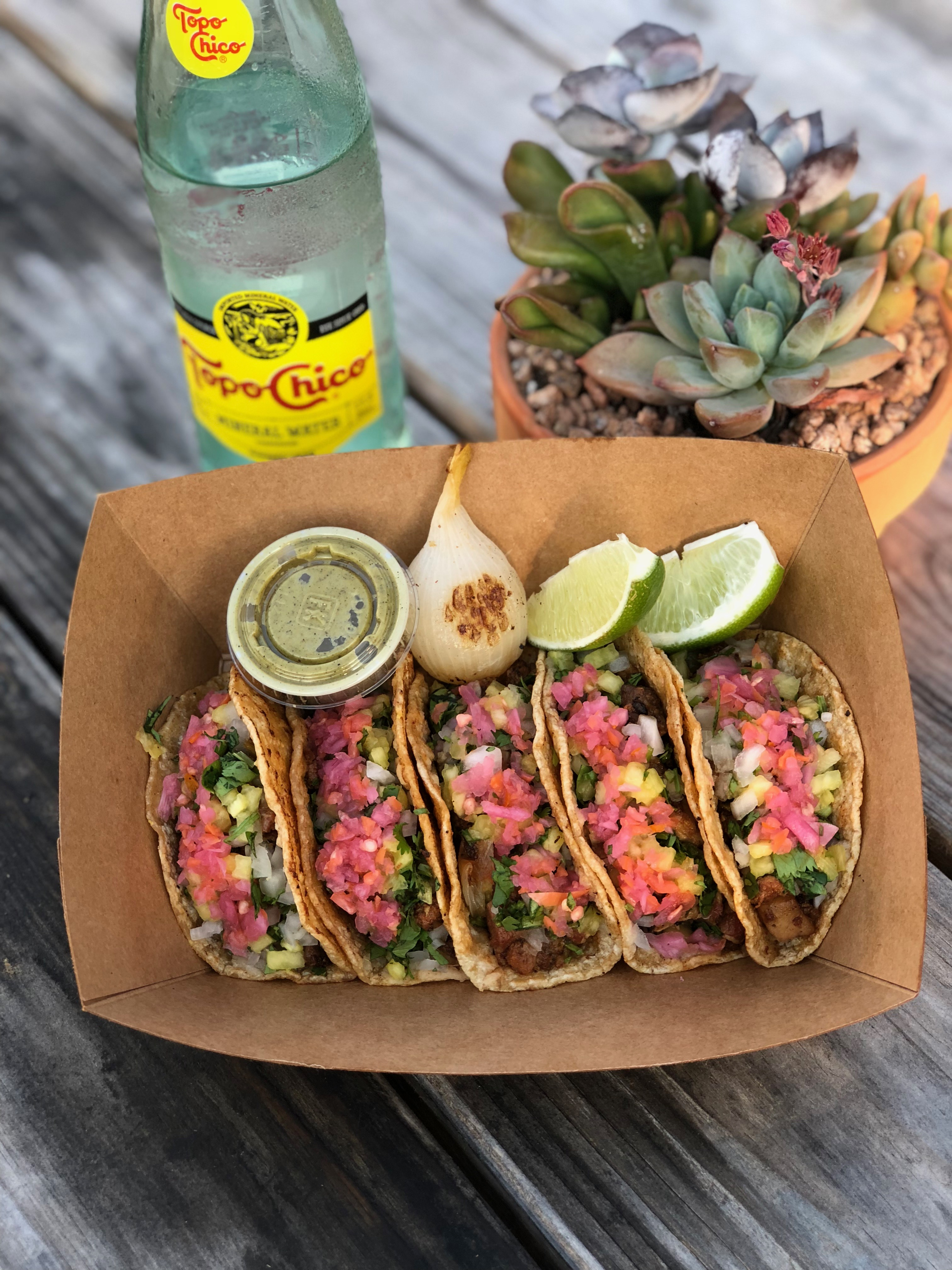 Tacos from Discada