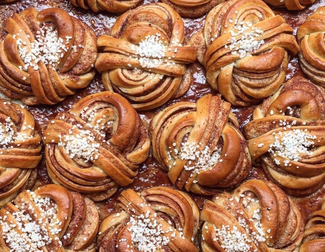 Best buns in London: cinnamon buns at Fabrique