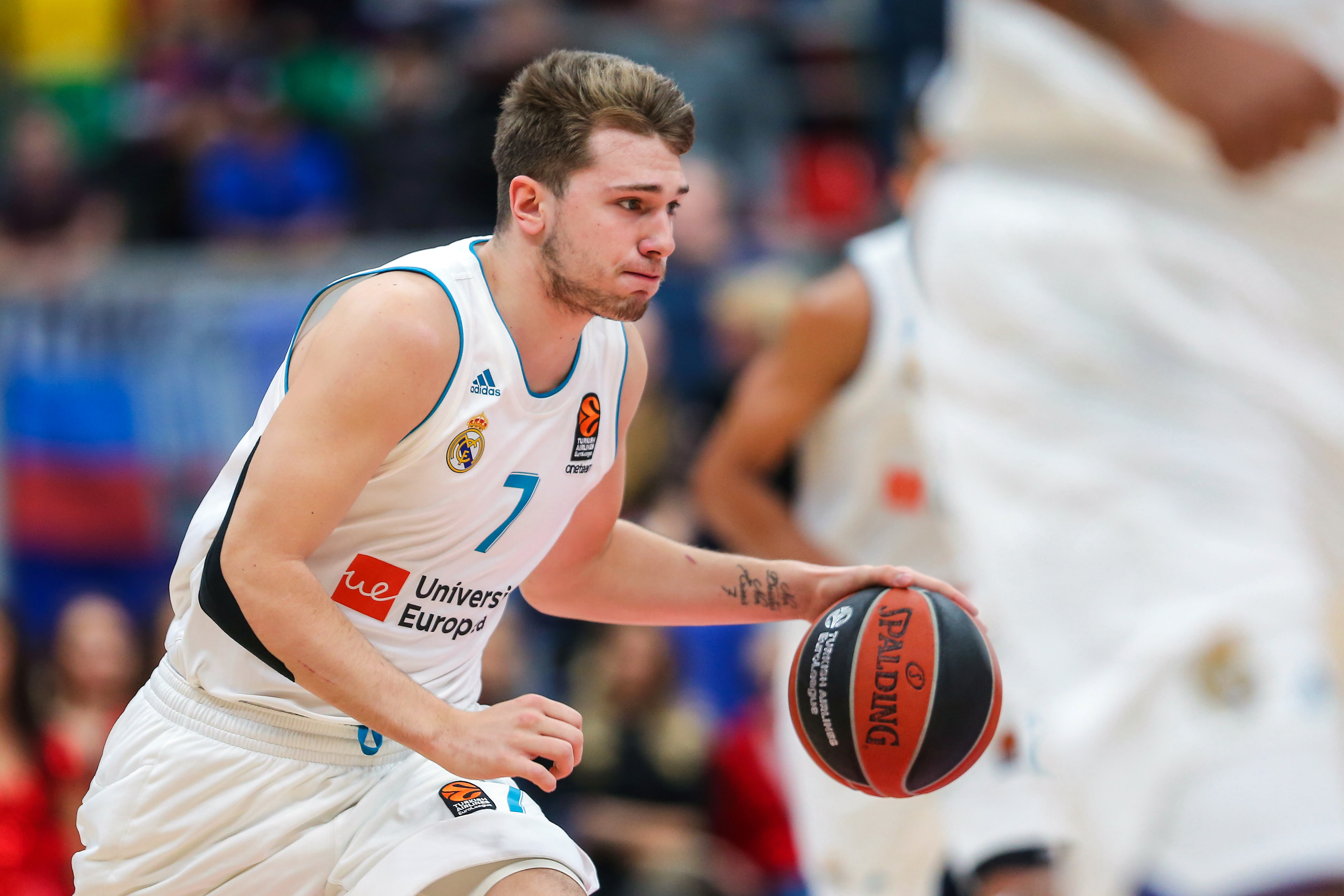 the latest e454b 22f0b Luka Doncic won't commit to coming to NBA until Real ...