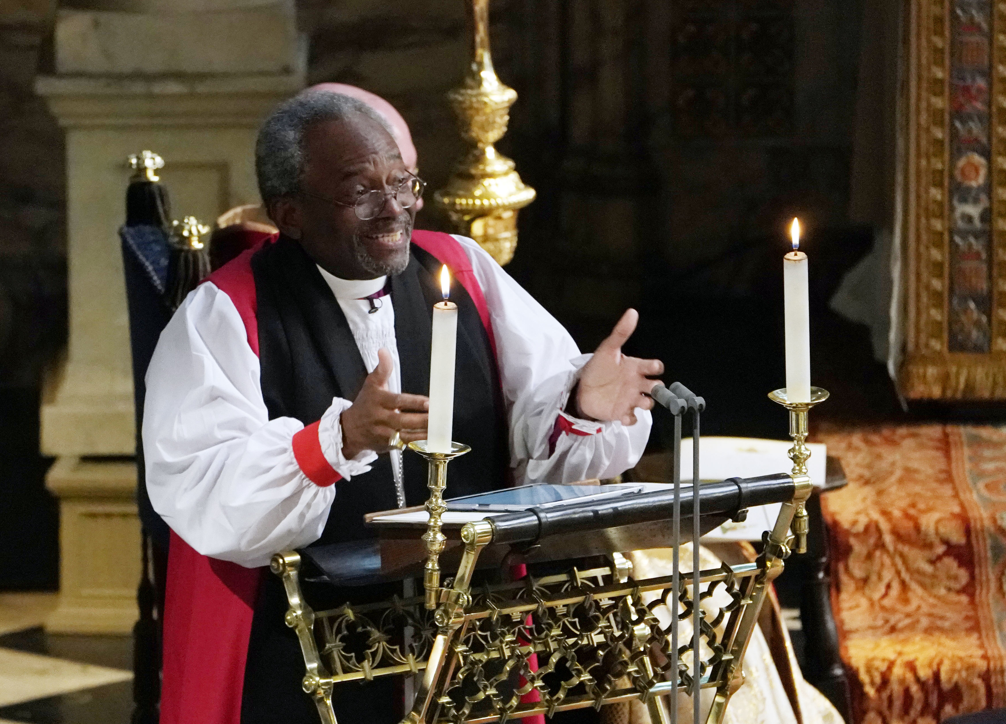 Bishop Michael Curry just stole the show with his sermon at the Royal Wedding