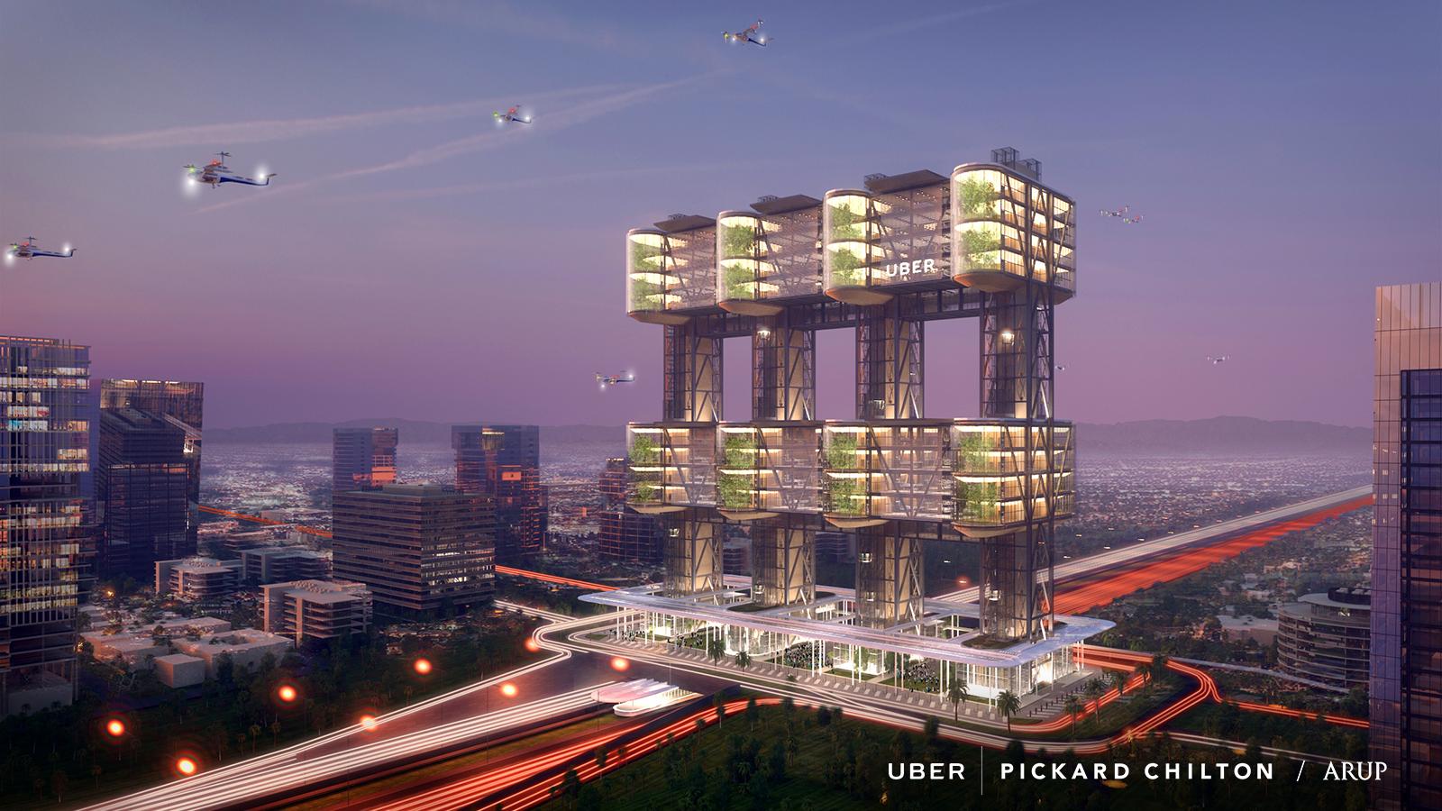 visualization for uber skyport
