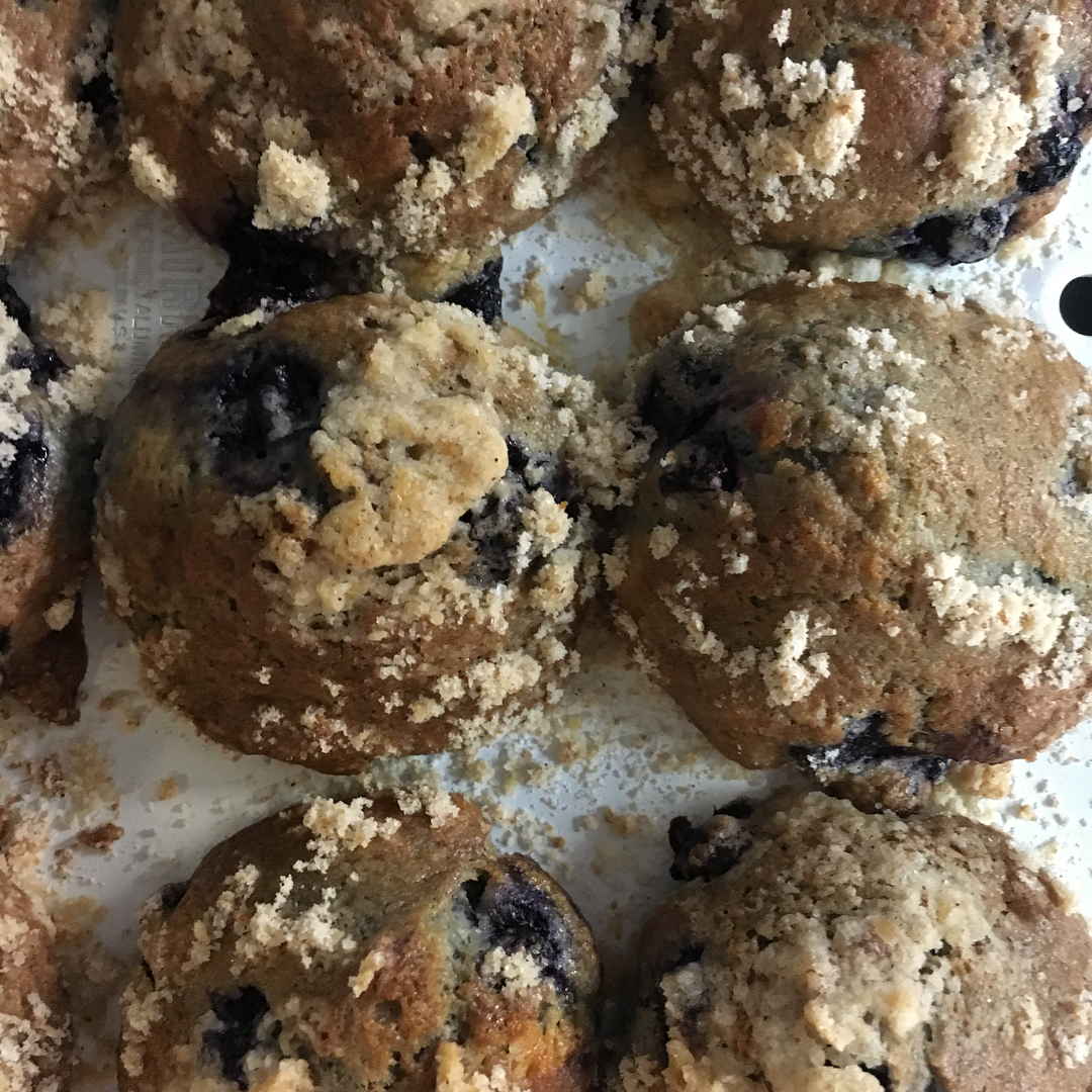 Muffins at Upperwest for the newly introduced coffee shop hours