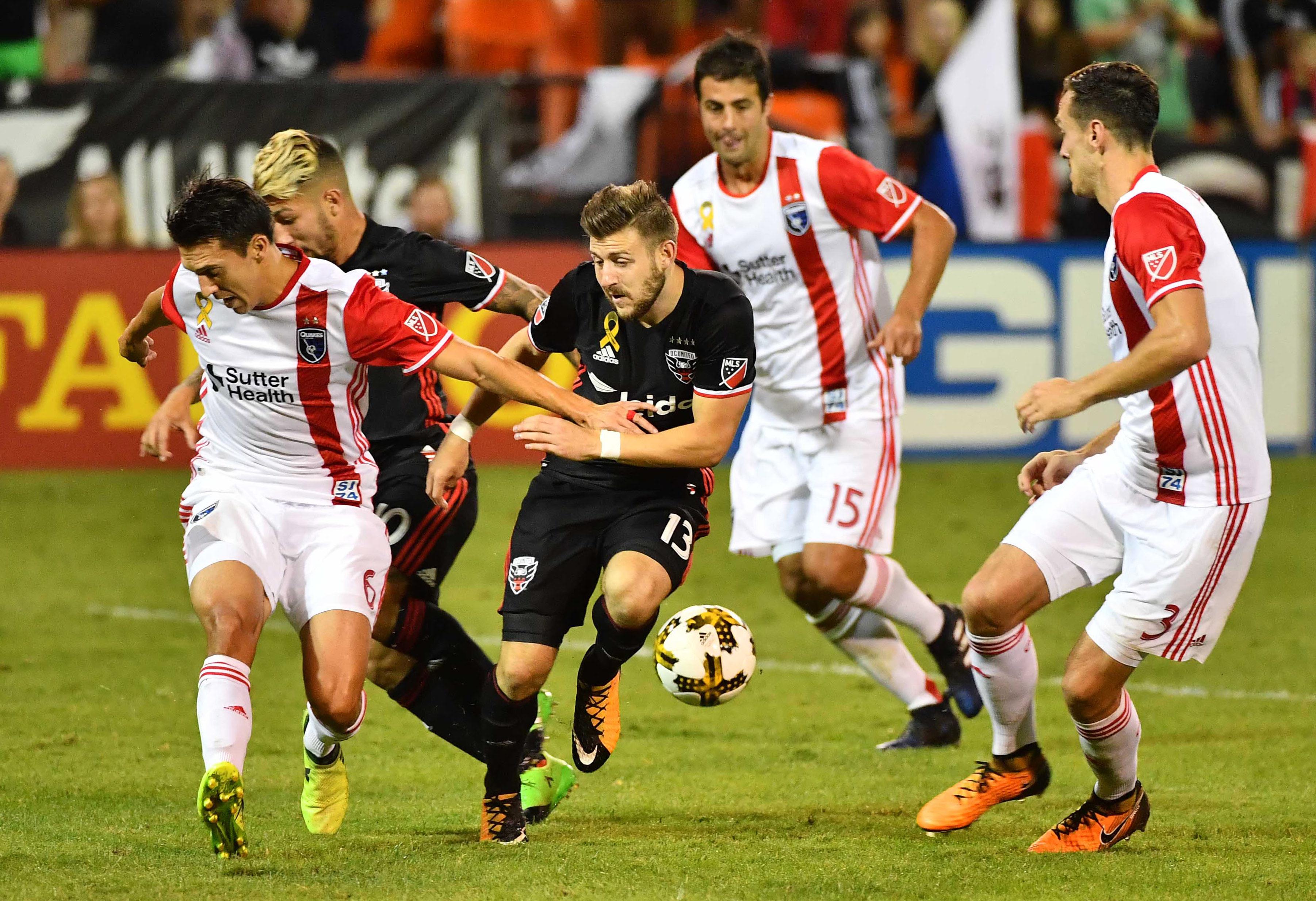 MLS: San Jose Earthquakes at D.C. United