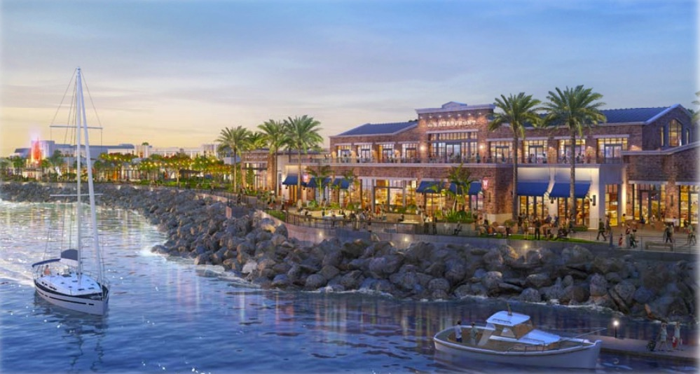Redondo Beach waterfront rendering