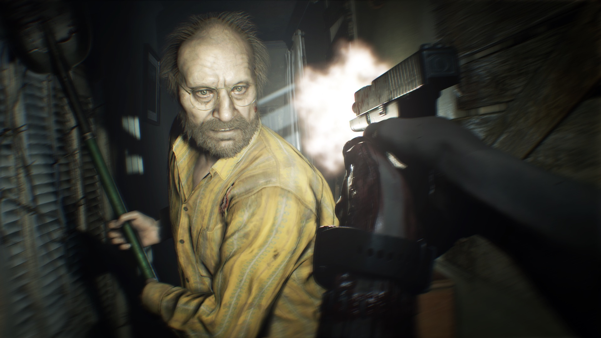 Capcom is bringing Resident Evil 7 to Switch    by streaming