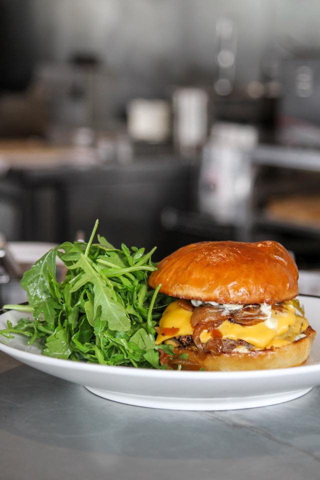 Bonhomie's burger